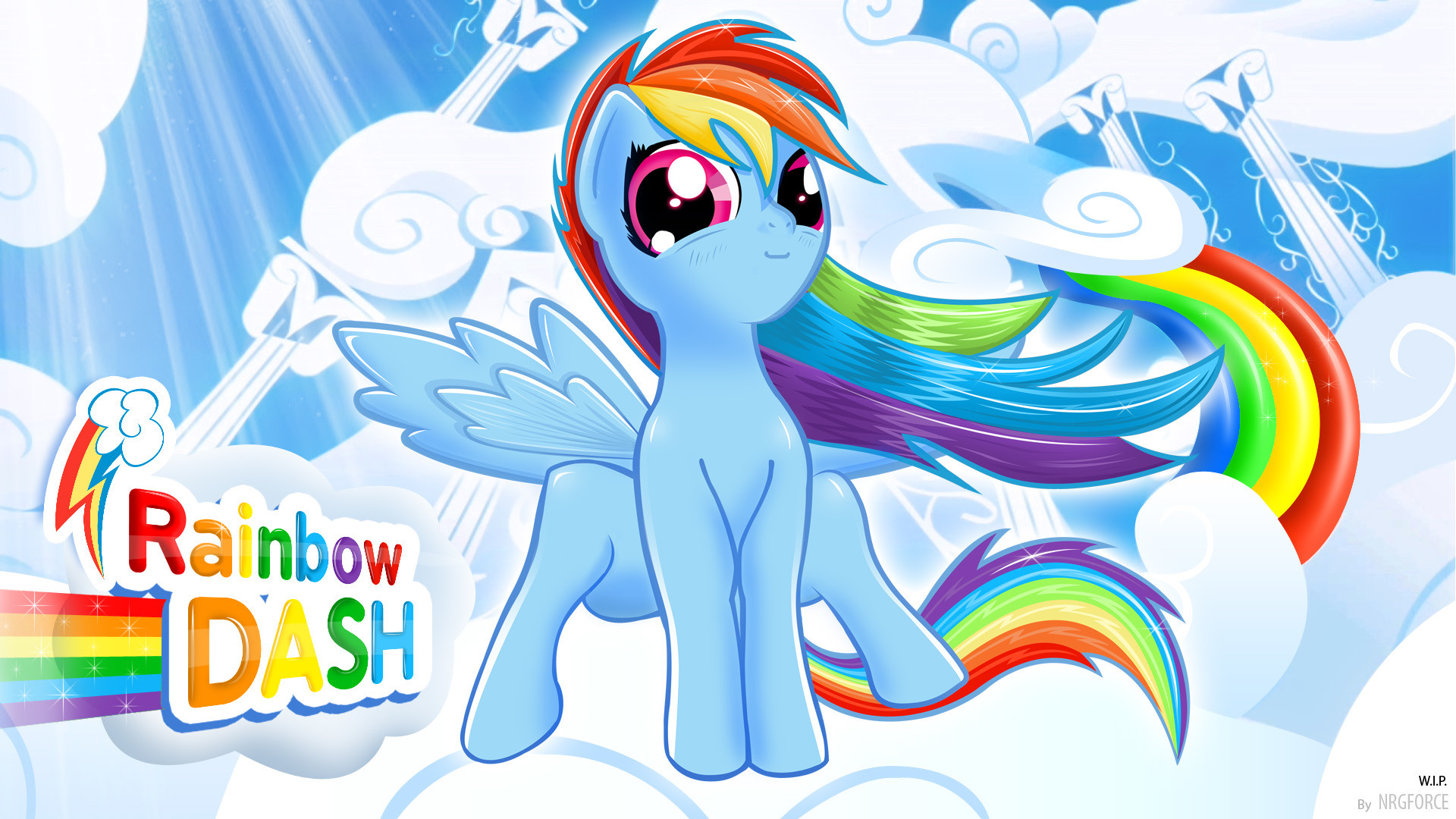 1920x1080 Cute Pictures Tumblr Backgrounds 20 20rainbow Dash wallpapers HD free .