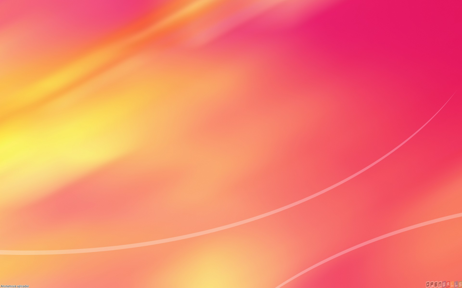 1920x1200 Pink and Orange Wallpaper
