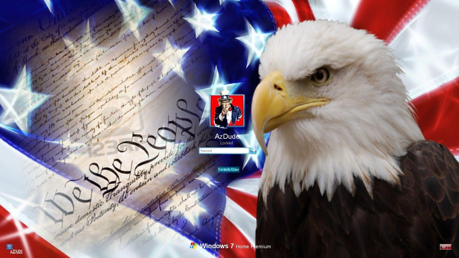 Patriotic Bald Eagle Wallpaper (66+ images)