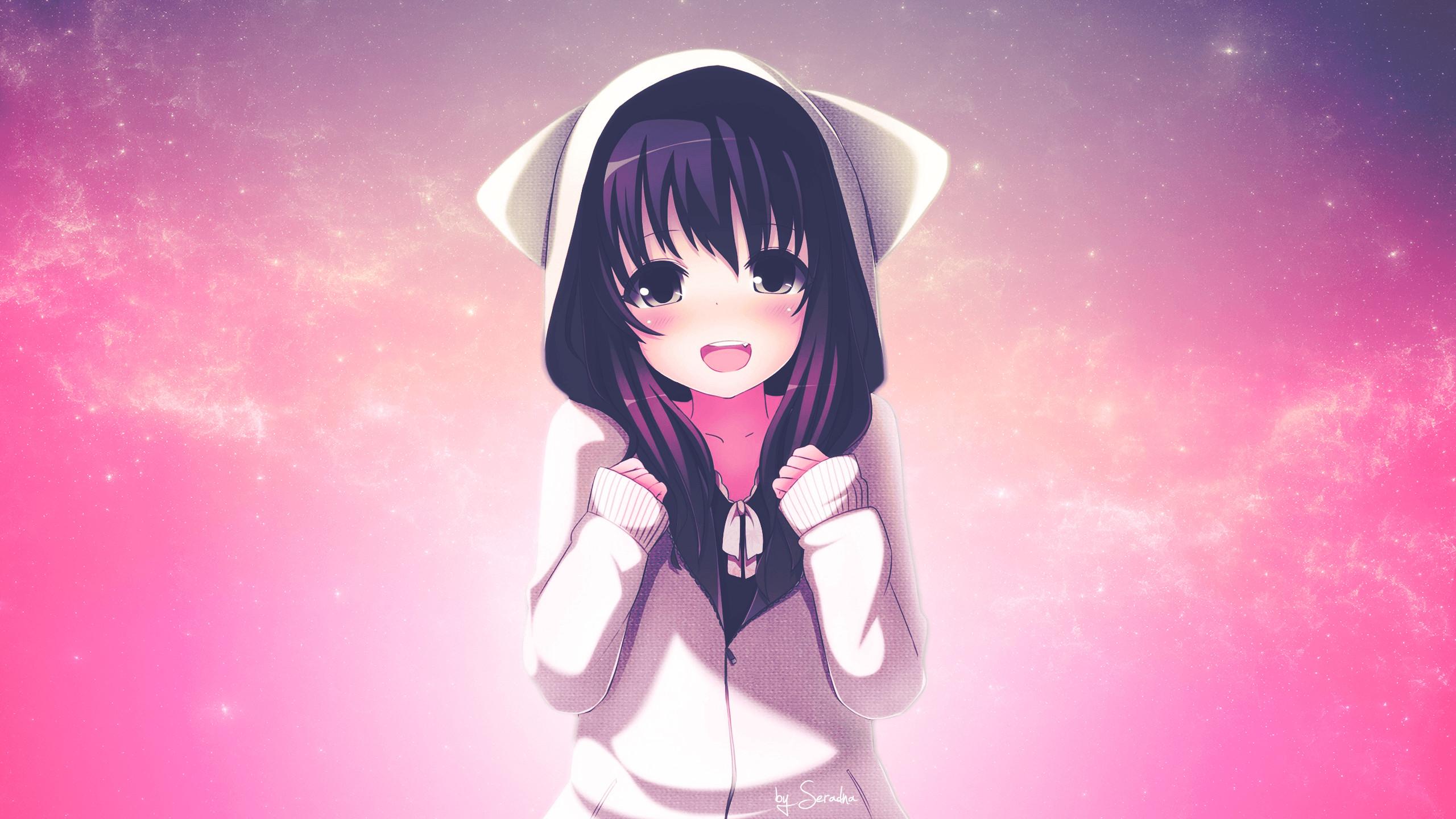 Cute Anime Girls Hd Wallpaper 77 Images