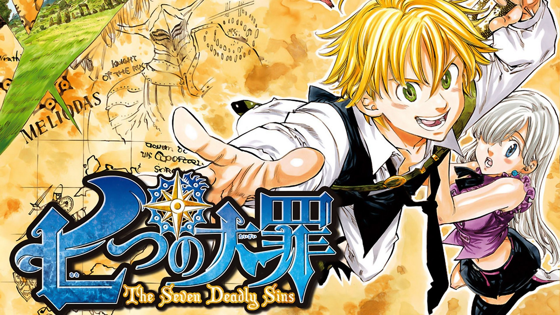 1920x1080 The Seven Deadly Sins Wallpaper and Background | 1600x1200 | ID:518854 ...