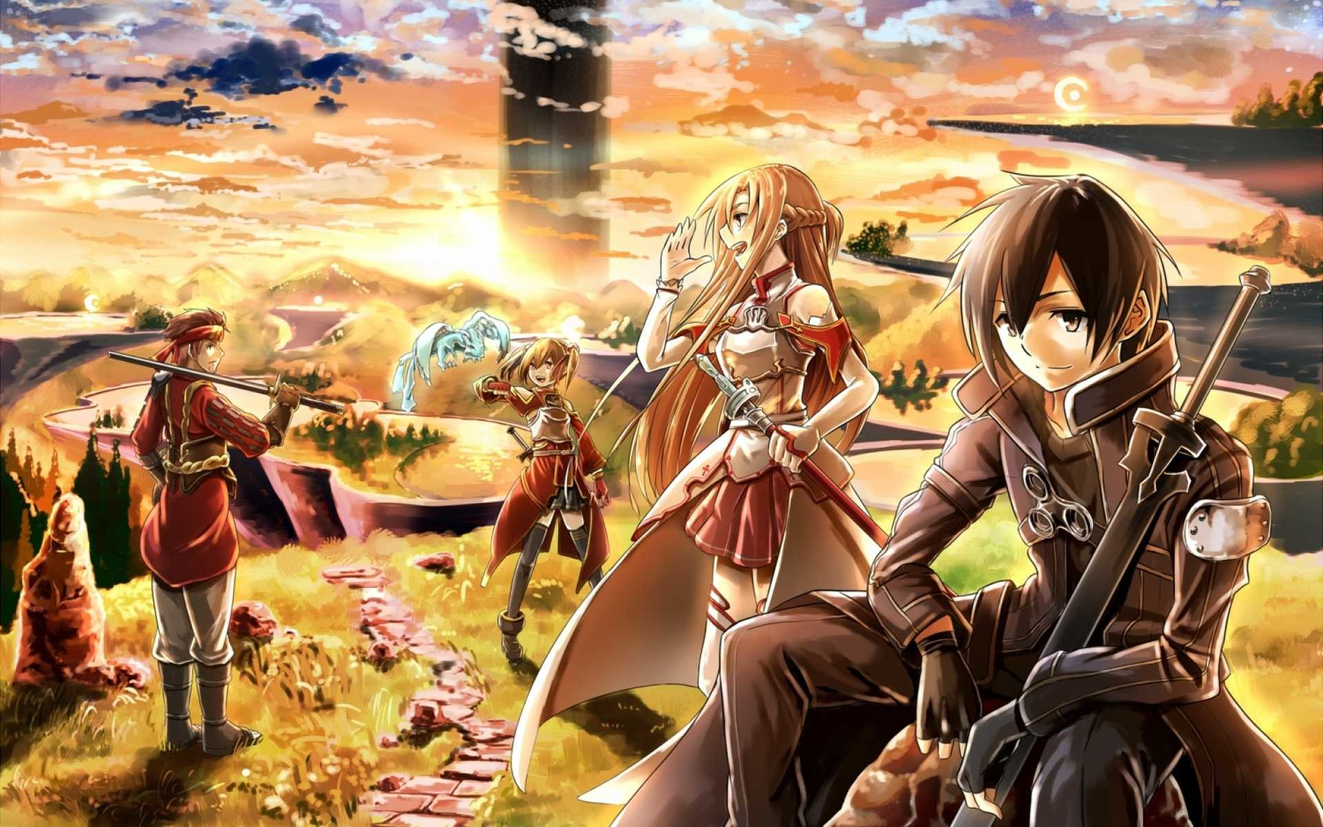 1920x1200 SAO Wallpapers - Wallpaper Cave
