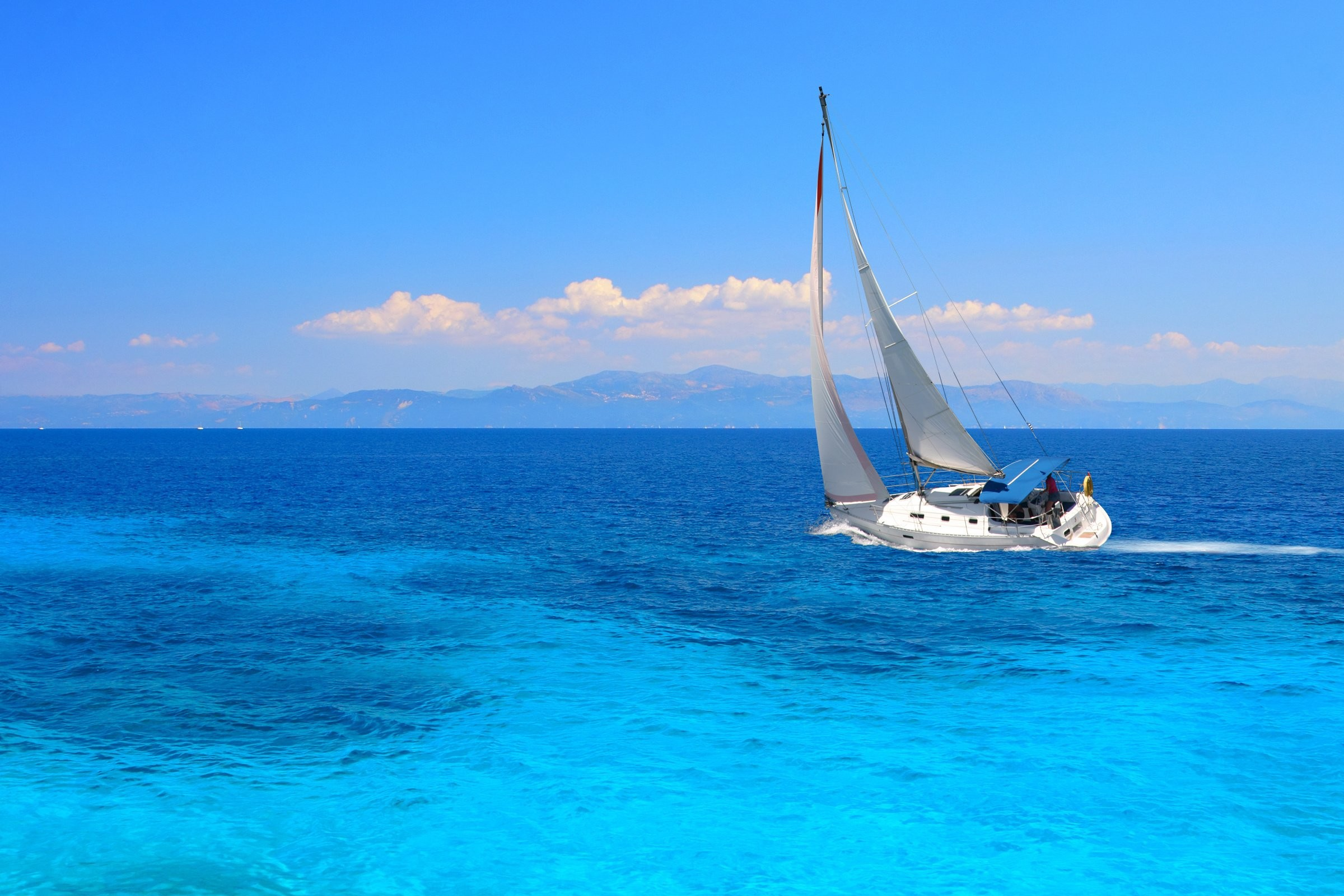 Sailboats In The Caribbean: HD Sailing Wallpaper (61+ Images