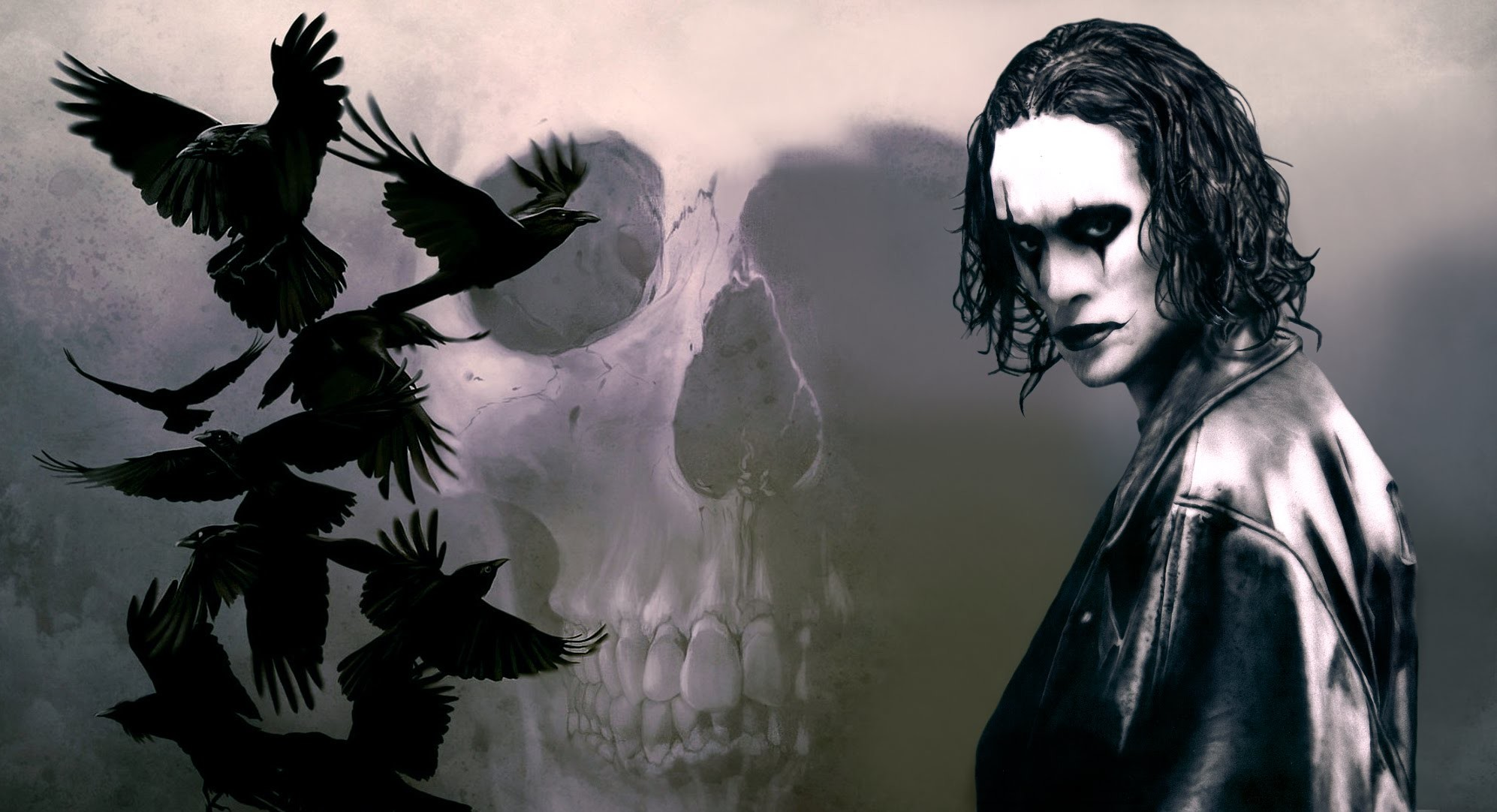 The crow wallpaper brandon lee 70 images - The crow wallpaper ...