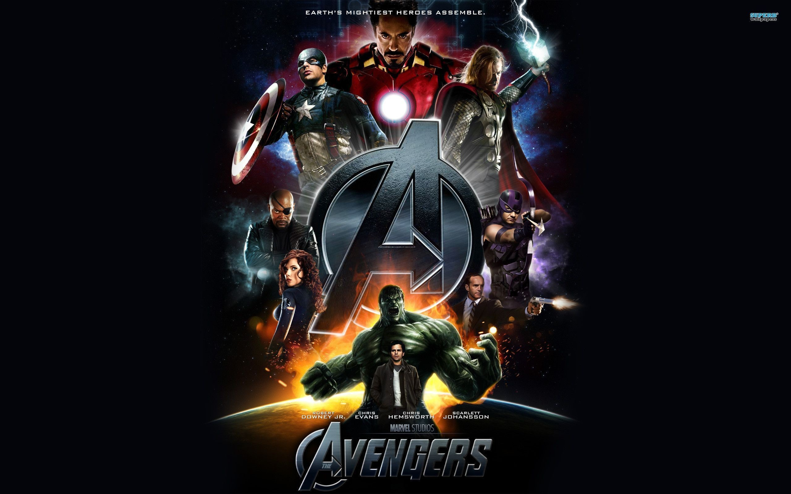 2560x1600 Avengers Wallpapers HD - Wallpaper Cave