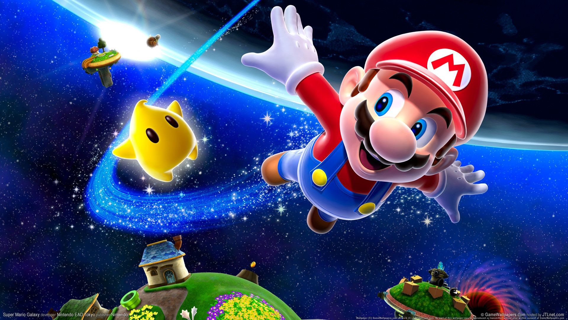 1920x1080 Super-Mario-Galaxy-Wallpapers