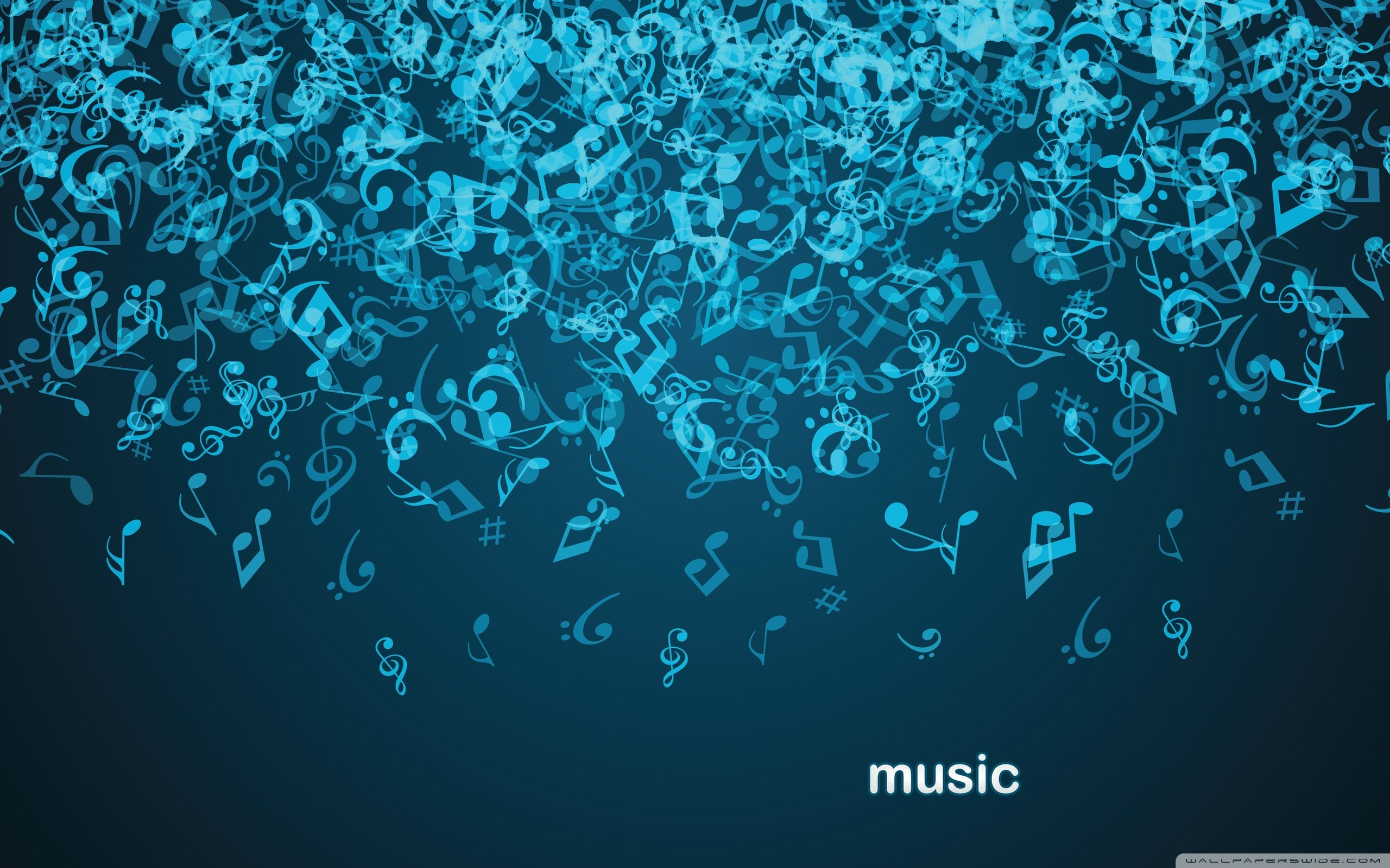2560x1600 1920x1200 Music Notes Wallpaper 16208