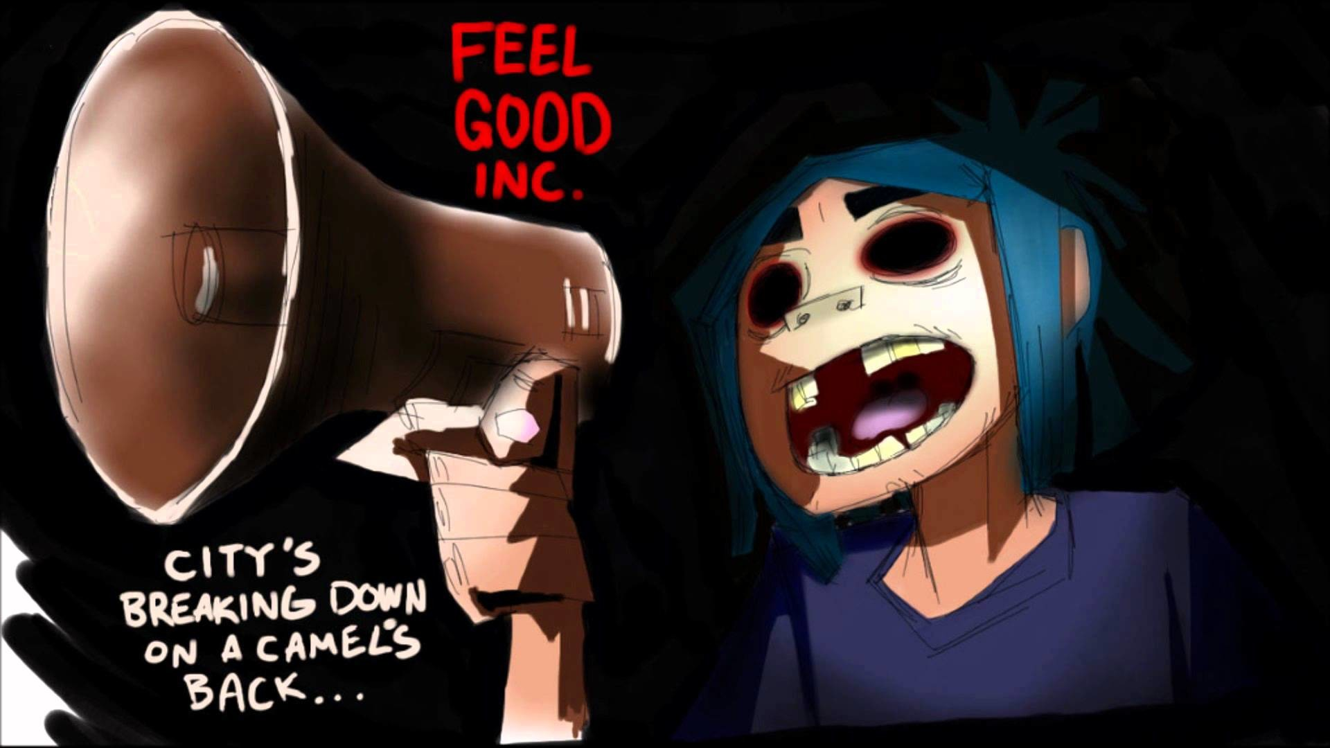 Gorillaz Feel Good Inc Hd 1080p
