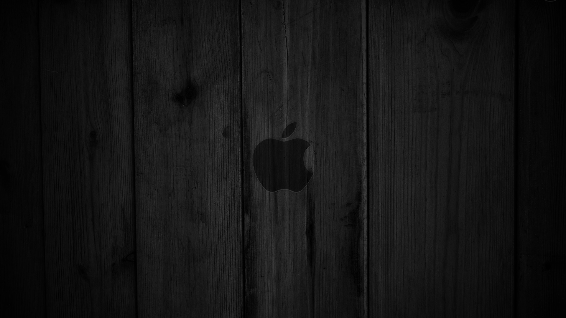 1920x1080 Dark wood OS X Apple wallpaper