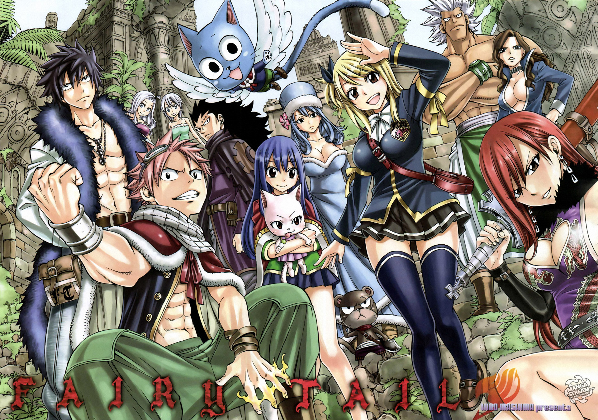 1920x1351 Anime - Fairy Tail Charles (Fairy Tail) Lucy Heartfilia Natsu Dragneel Erza  Scarlet Wendy