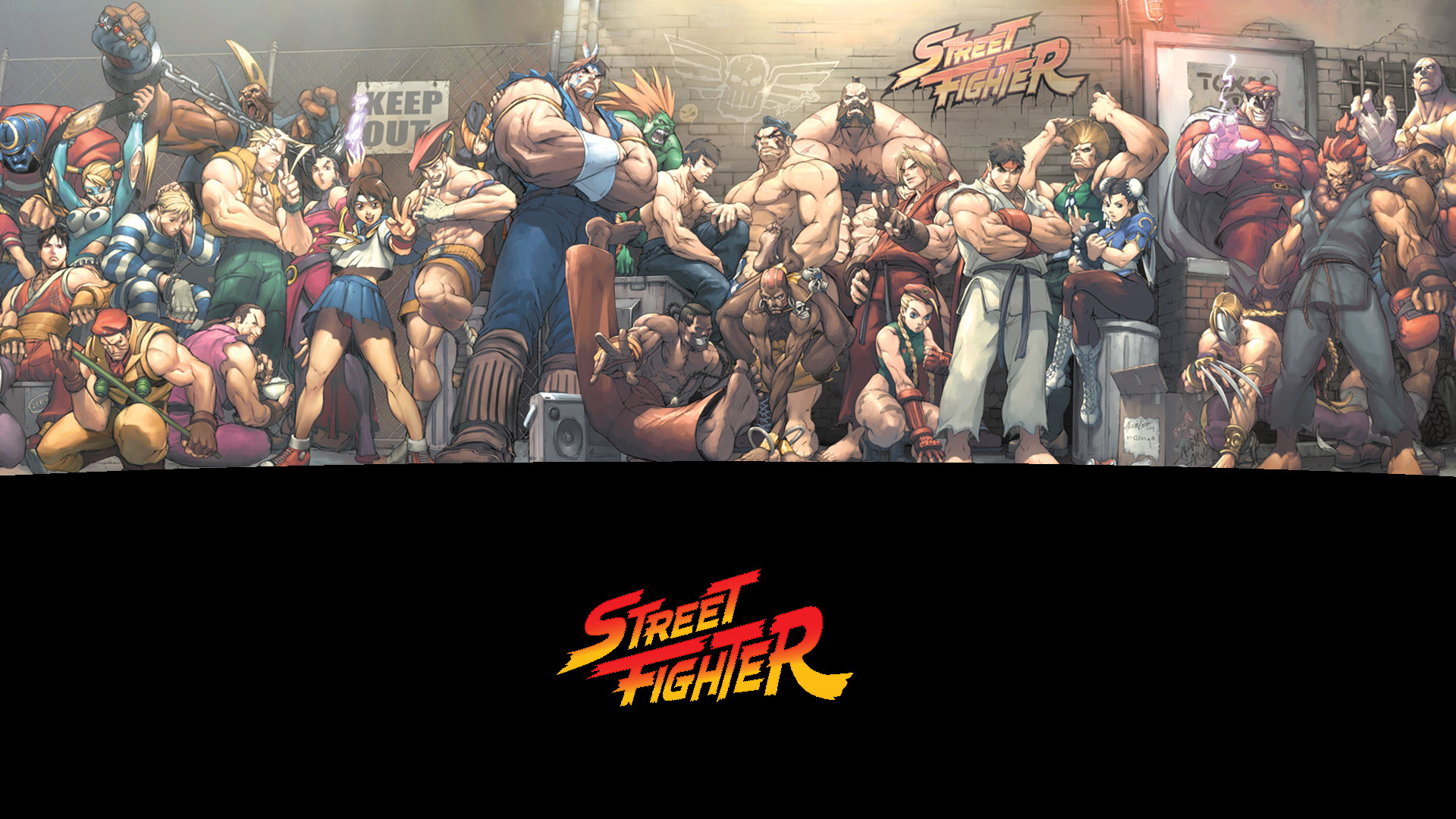 1920x1080 388 Street Fighter HD Wallpapers | Backgrounds - Wallpaper Abyss