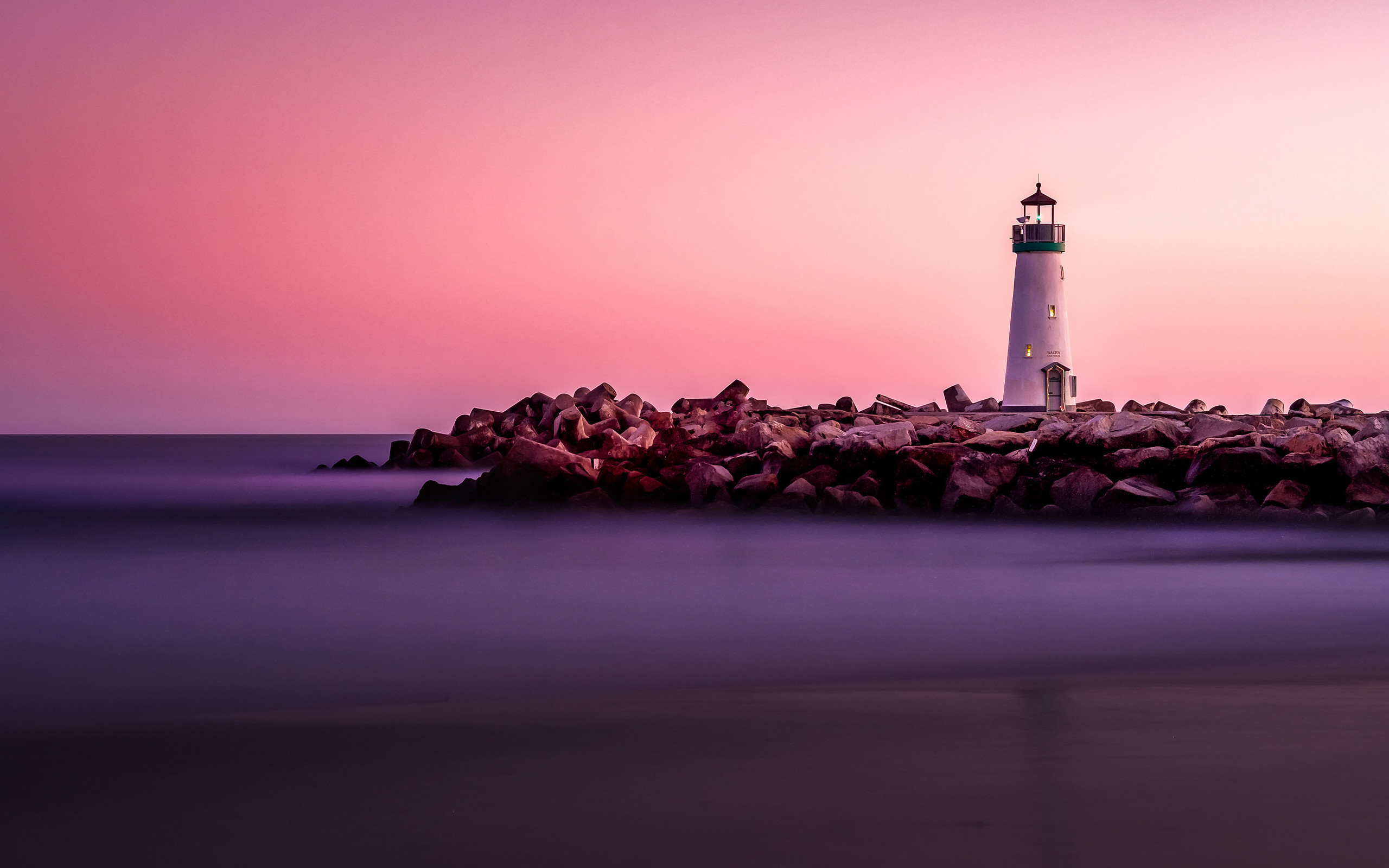 2560x1600 Daily Wallpaper: Lighthouse in Santa Cruz, California | I Like To Waste My  Time
