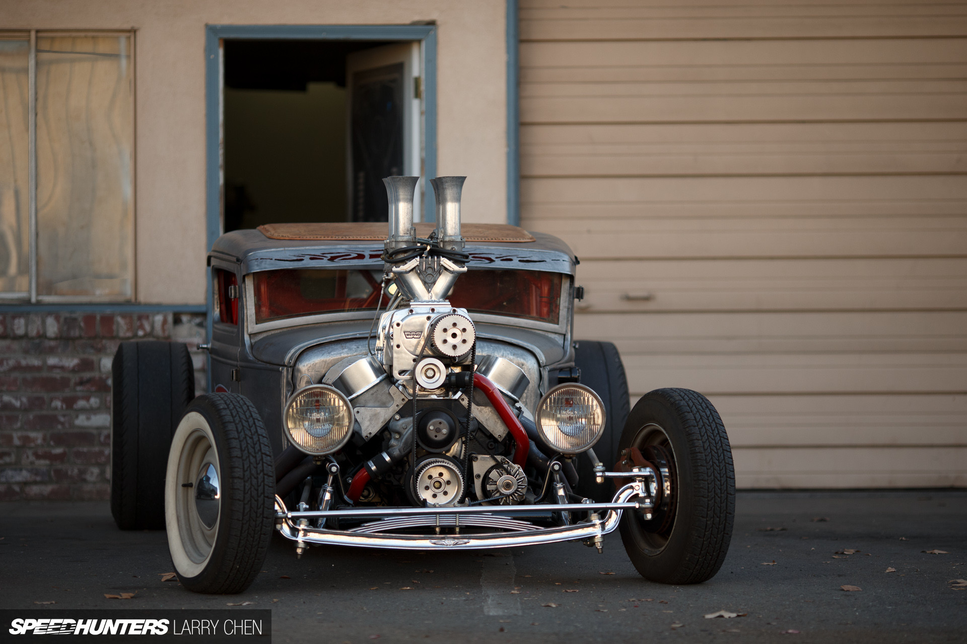 1920x1280 Hot Rod Rat Rod Slammed Engine HD wallpaper thumb