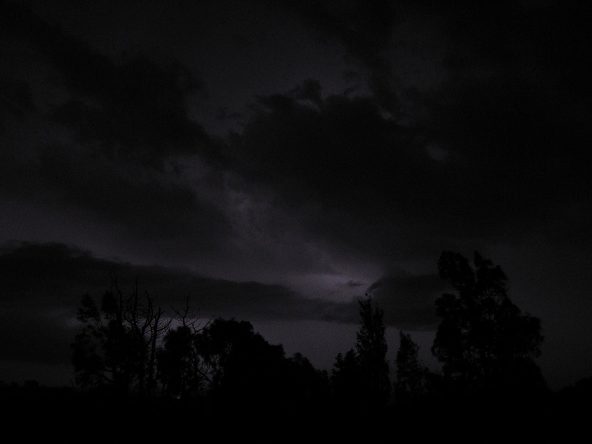 2000x1500 image Dark Stormy Night Sky PC, Android, iPhone and iPad. Wallpapers .