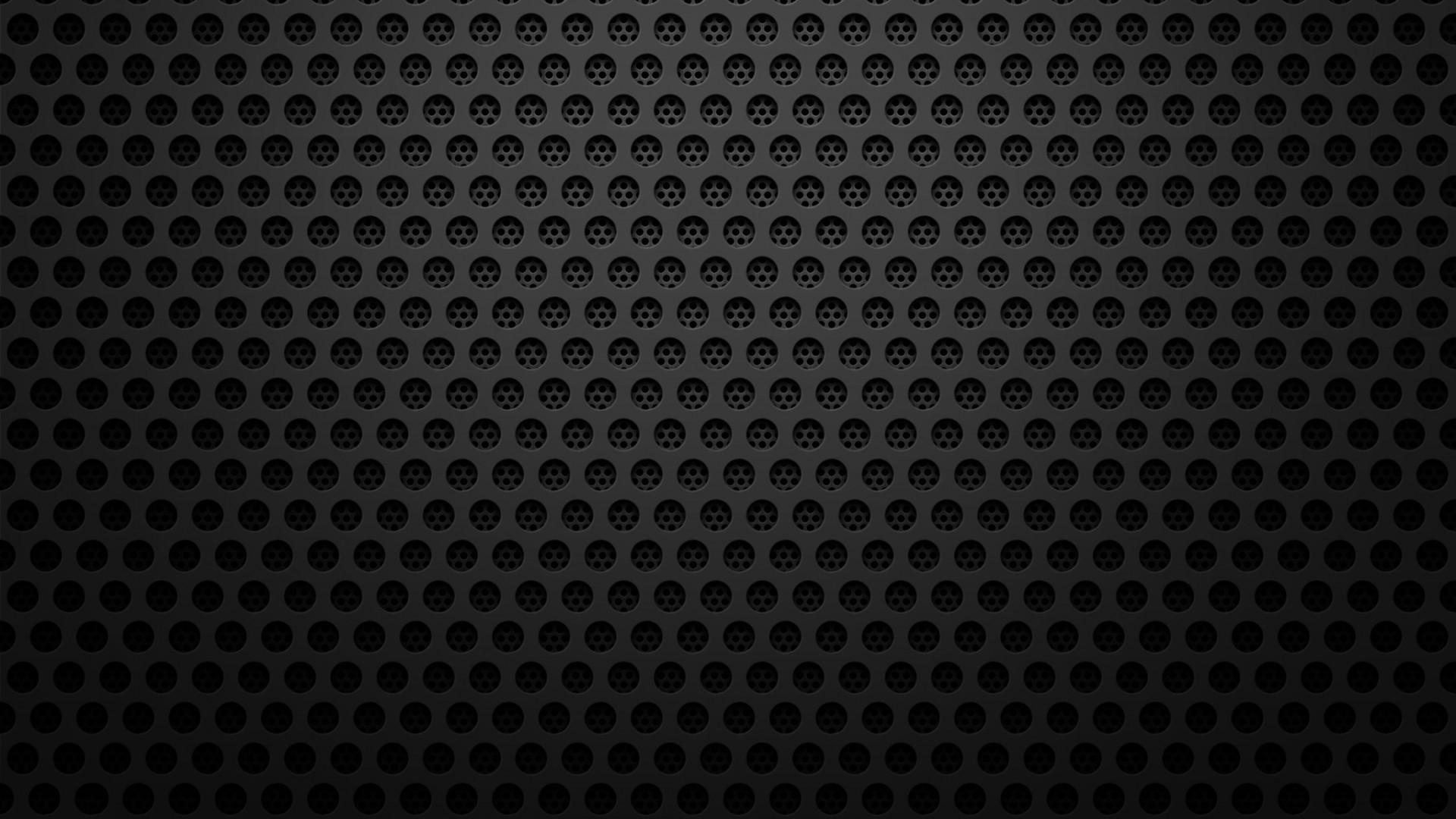 1920x1080 Black Metal Texture Wallpaper