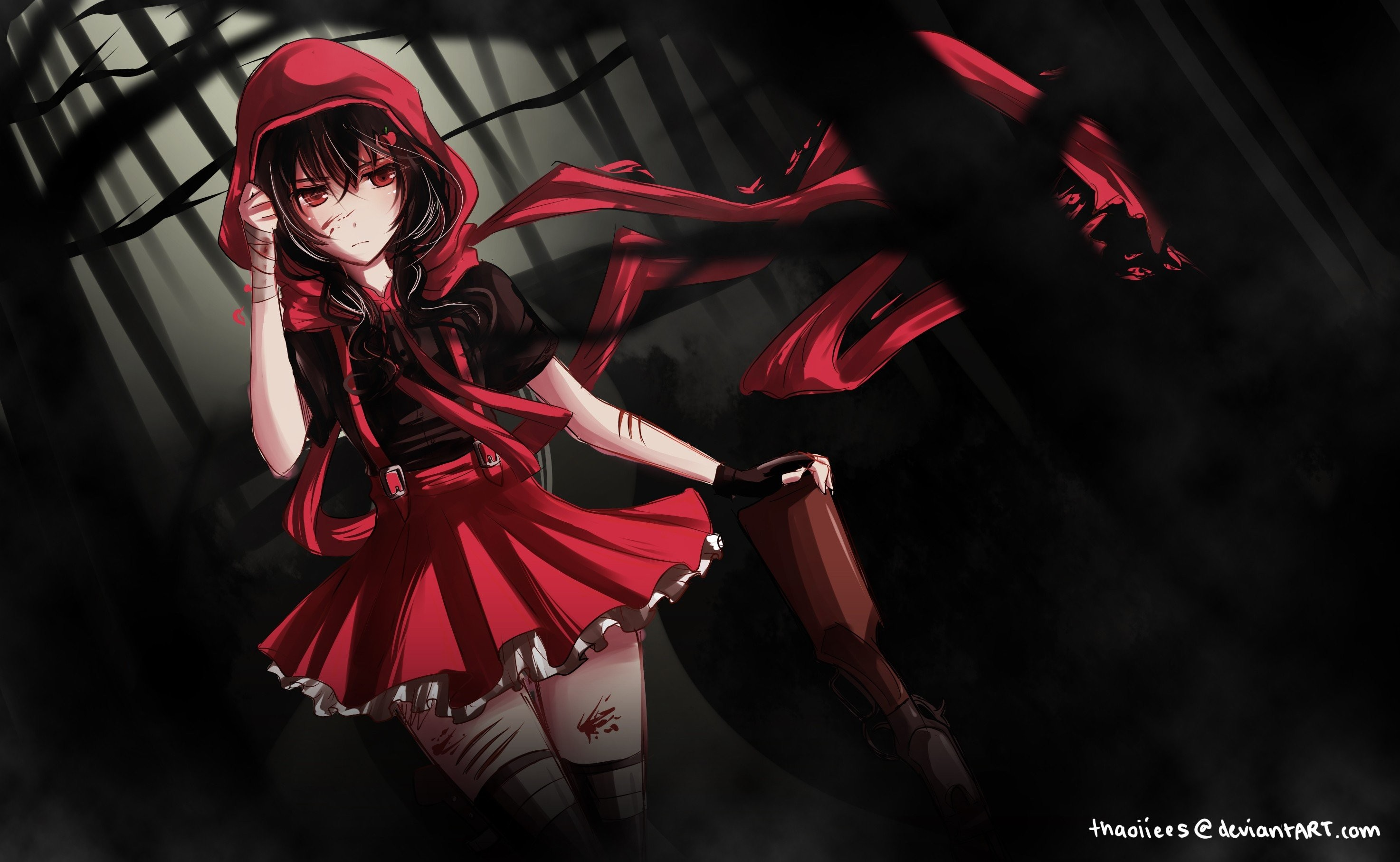 Red and black anime wallpaper 72 images - Red and black anime ...