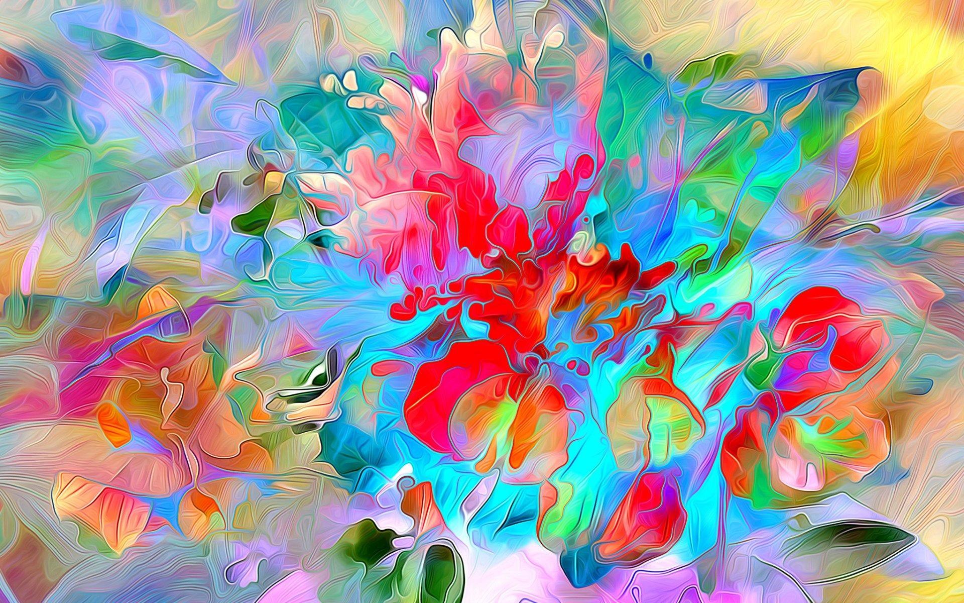 Color Explosion Wallpaper (77+ Images