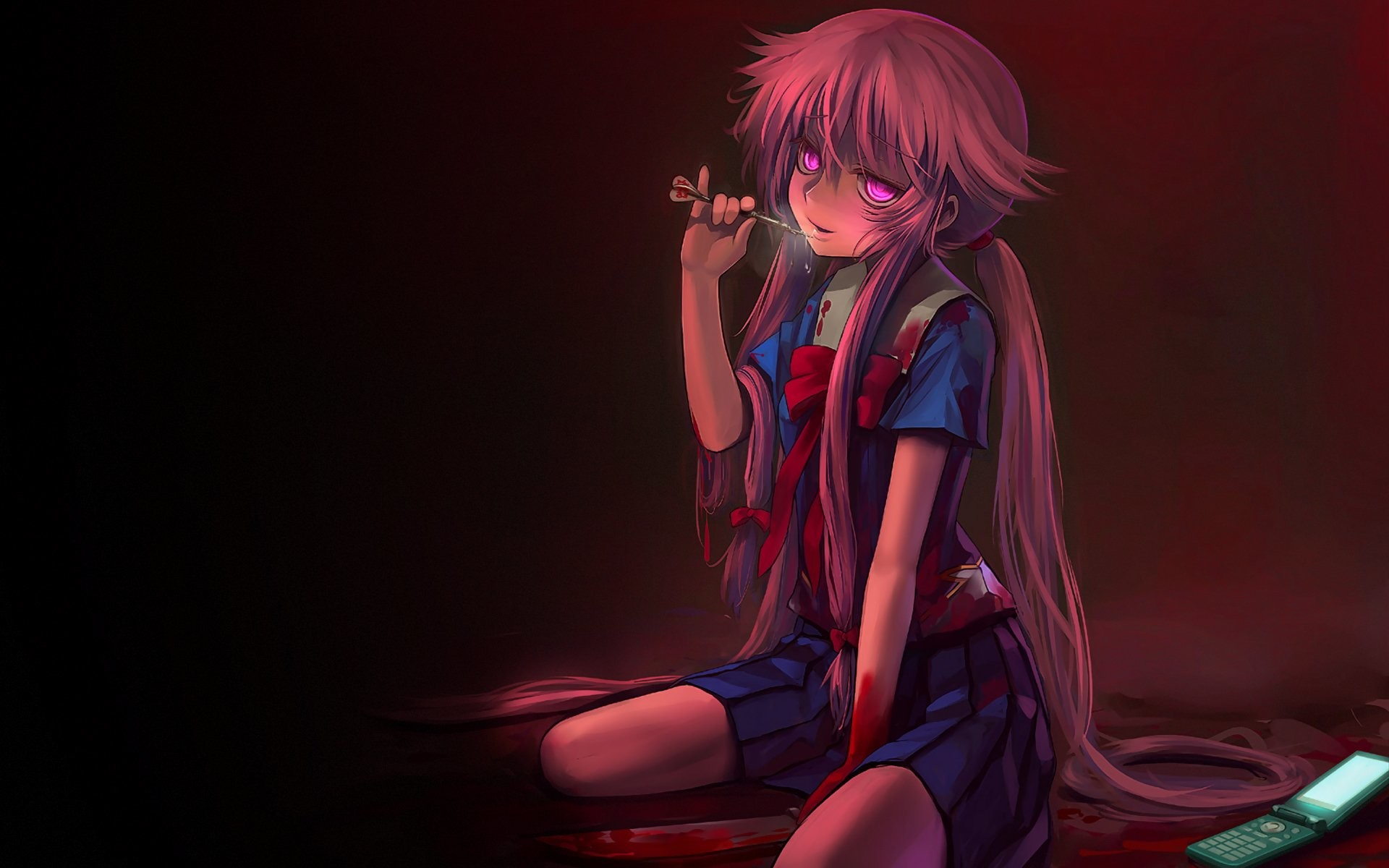 1920x1200 Yuno Gasai · Wallpapers ID:246244