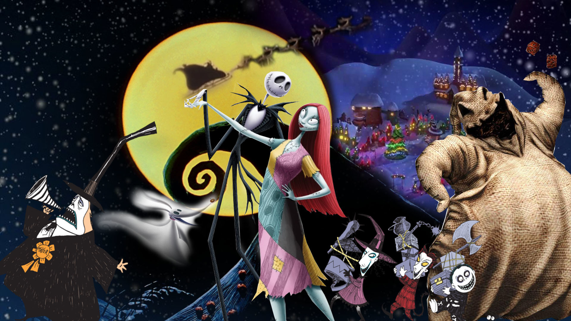 1920x1080 ... The Nightmare Before Christmas Wallpaper by The-Dark-Mamba-995