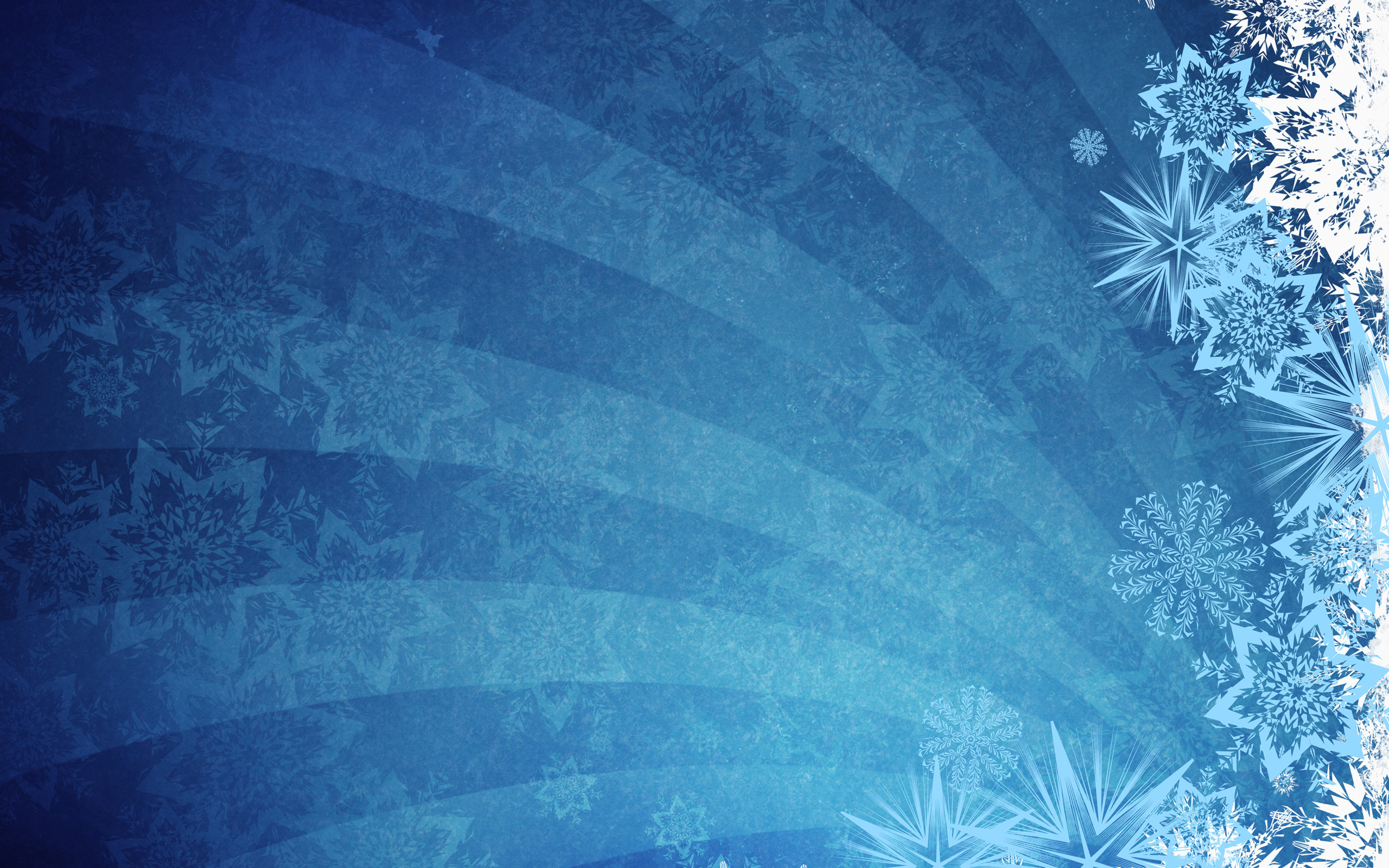 2560x1600 Blue Grunge Grunge Background Snowflakes Vectors #10192