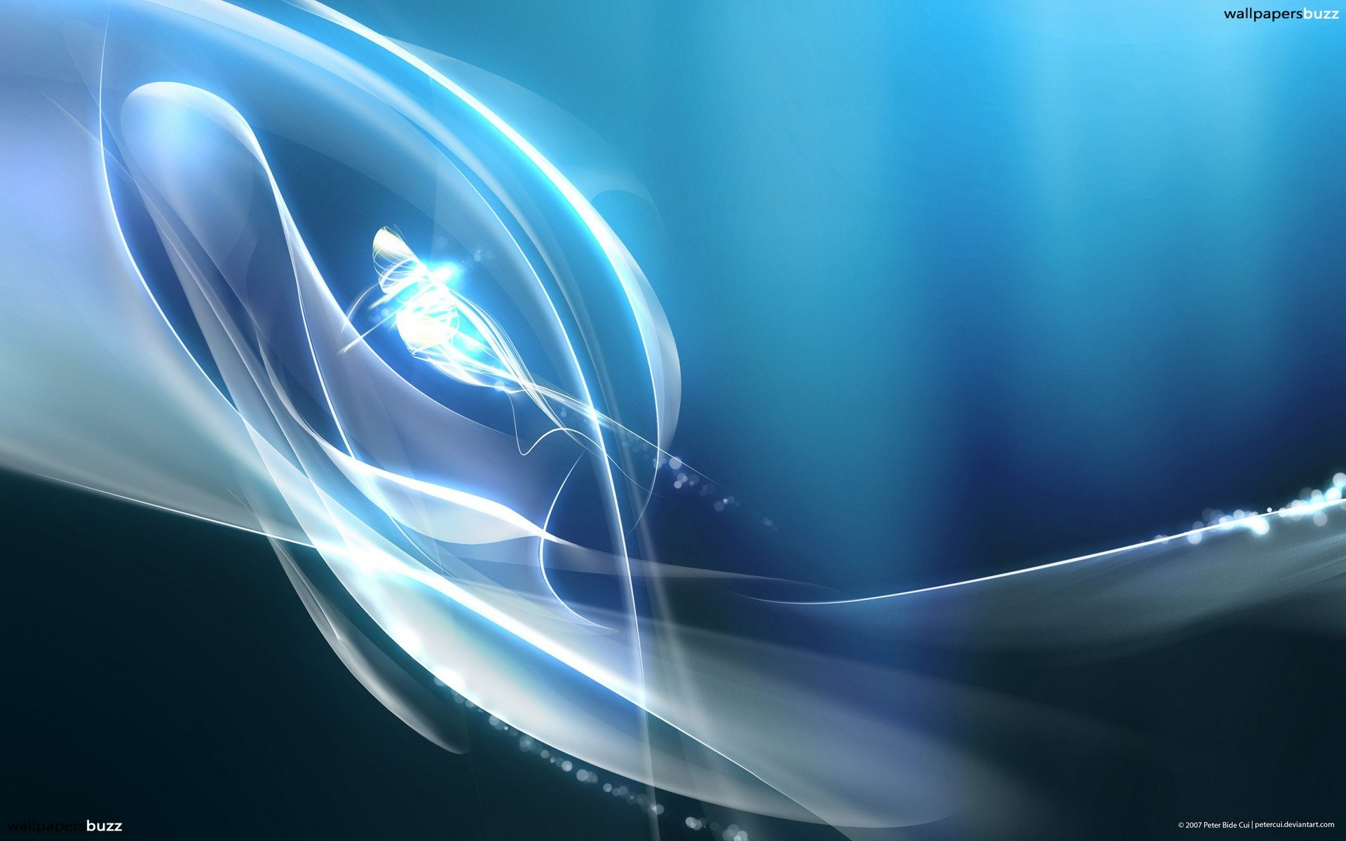 1920x1200 Beautiful abstract wallpaper with white smoke and a bright flash.
