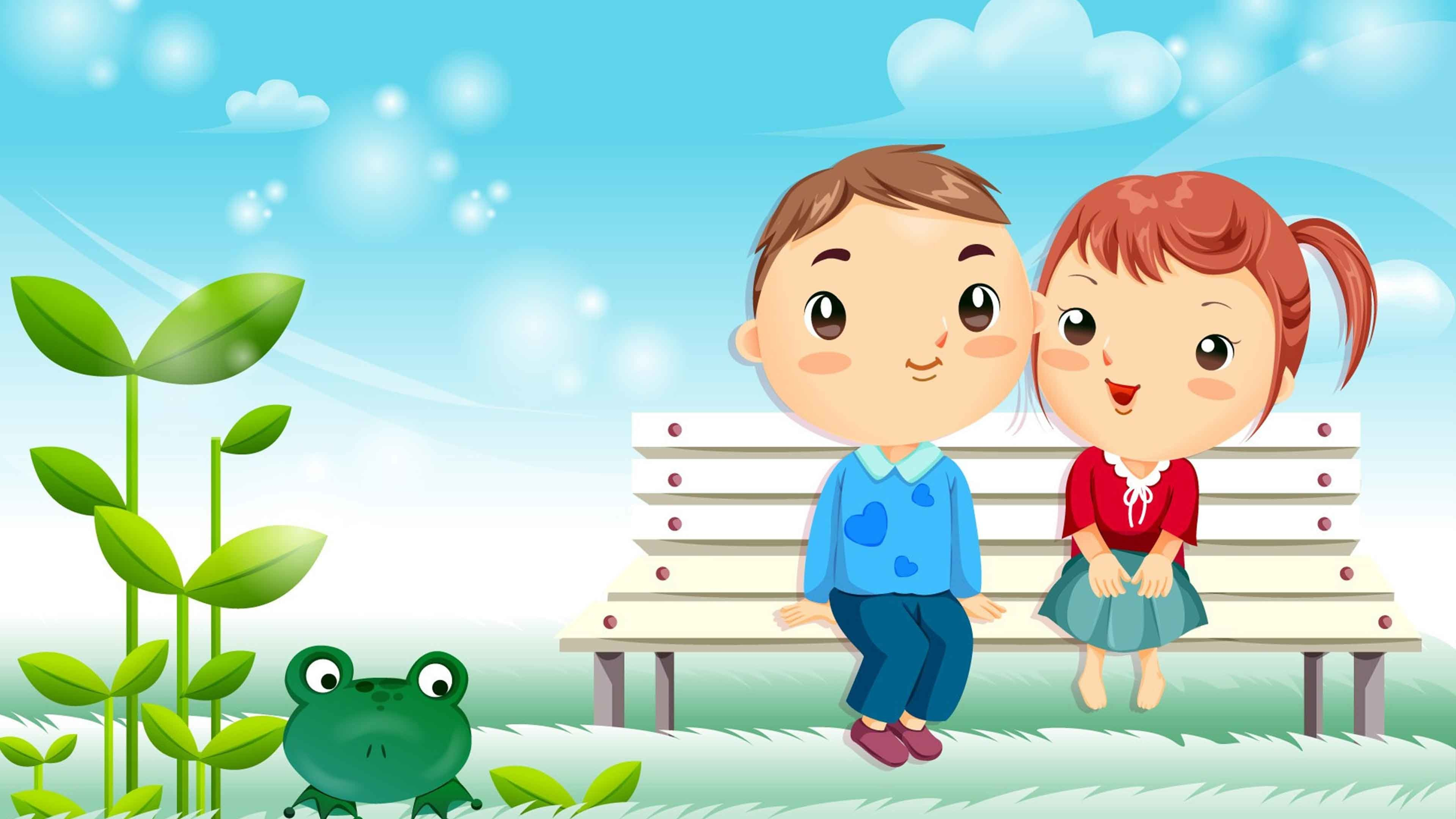 Cartoon backgrounds 54 images - Love cartoon hd ...
