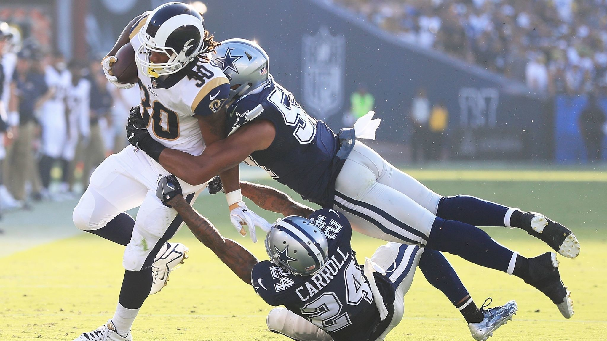 2048x1152 Rams running back Todd Gurley will get more carries during preseason, Coach  Sean McVay says - LA Times