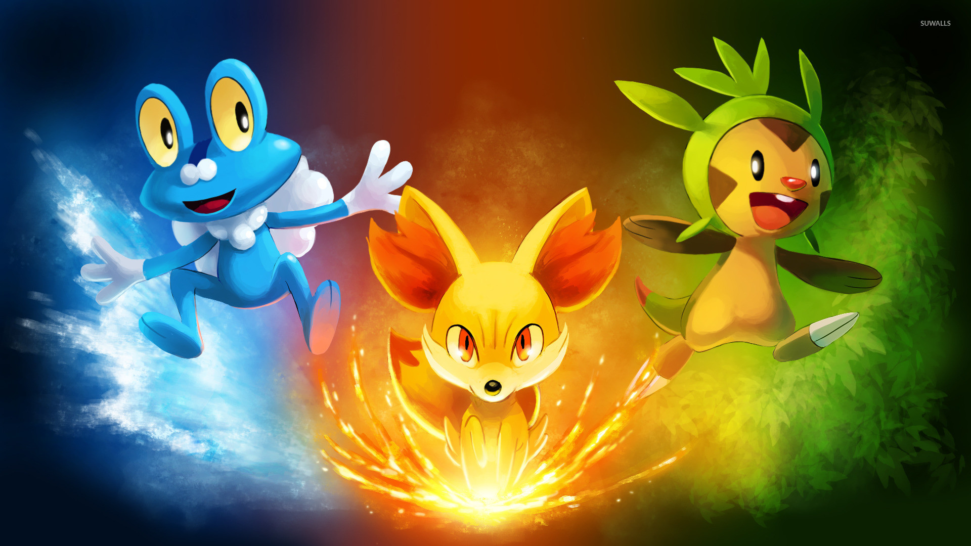 1920x1080 Pokemon X and Y wallpaper - Game wallpapers - #21692
