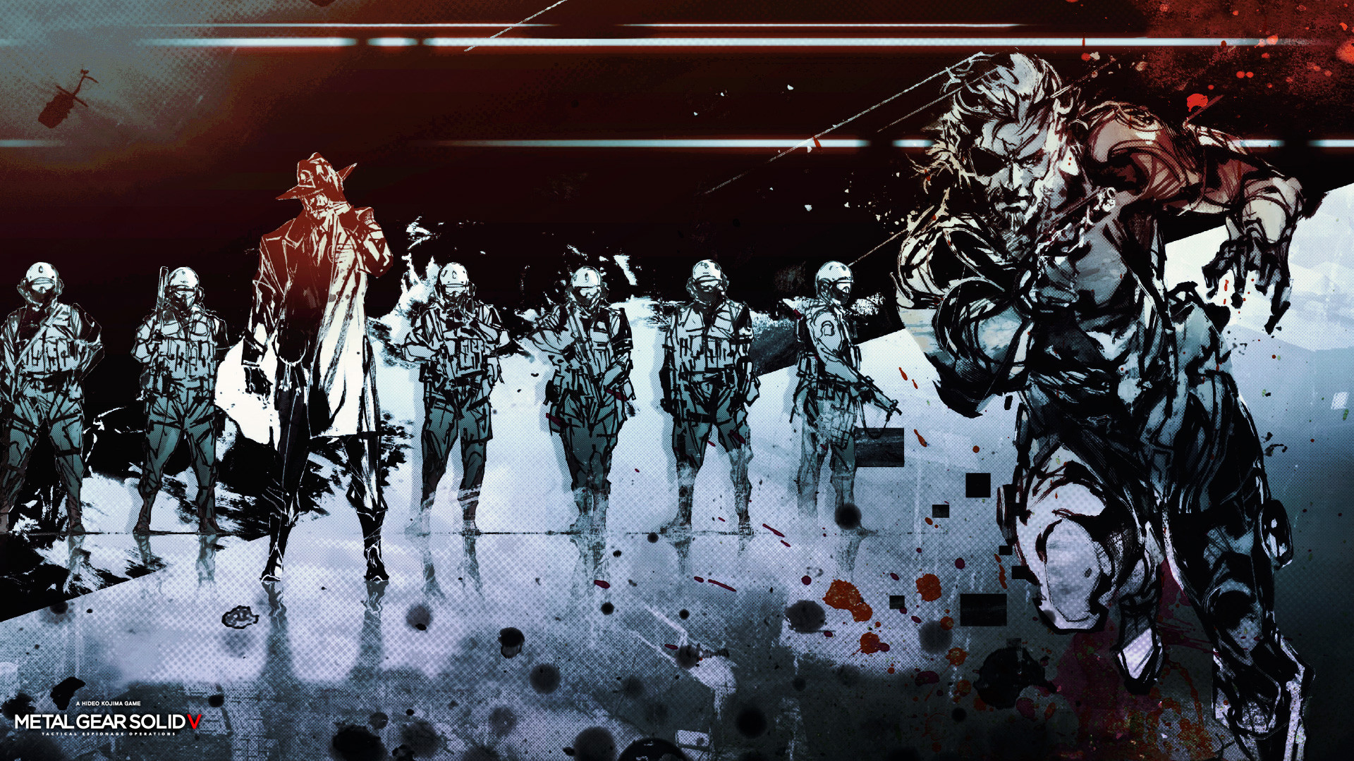 1920x1080 Wallpaper metal gear solid 5, the phantom pain, ground zeroes, hideo .