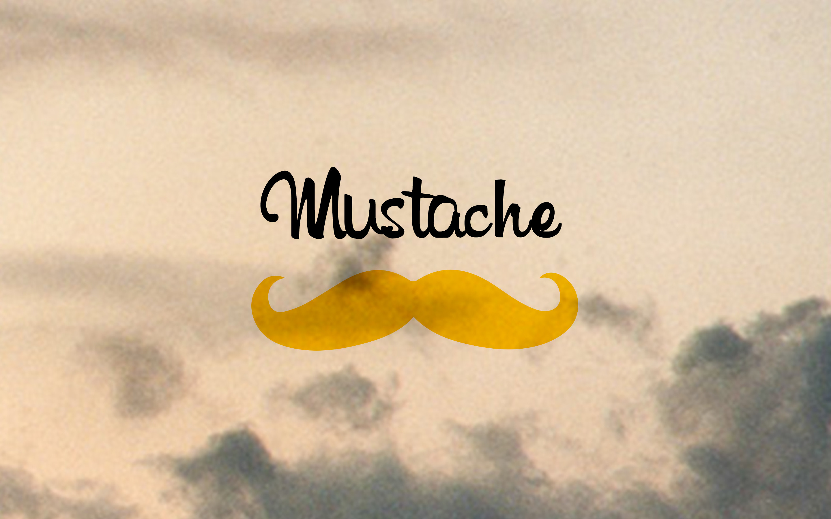 2880x1800 Mustache is Good (2048x1152 Resolution)