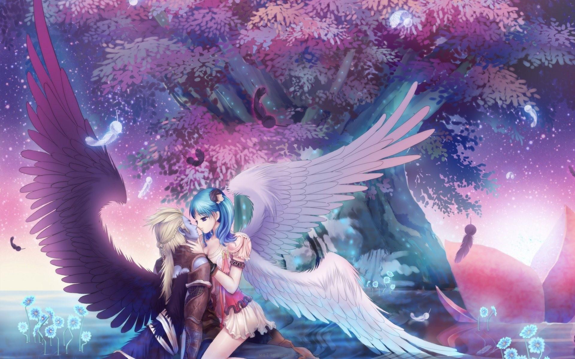 Anime angel and demon   Demons  2019-05-02