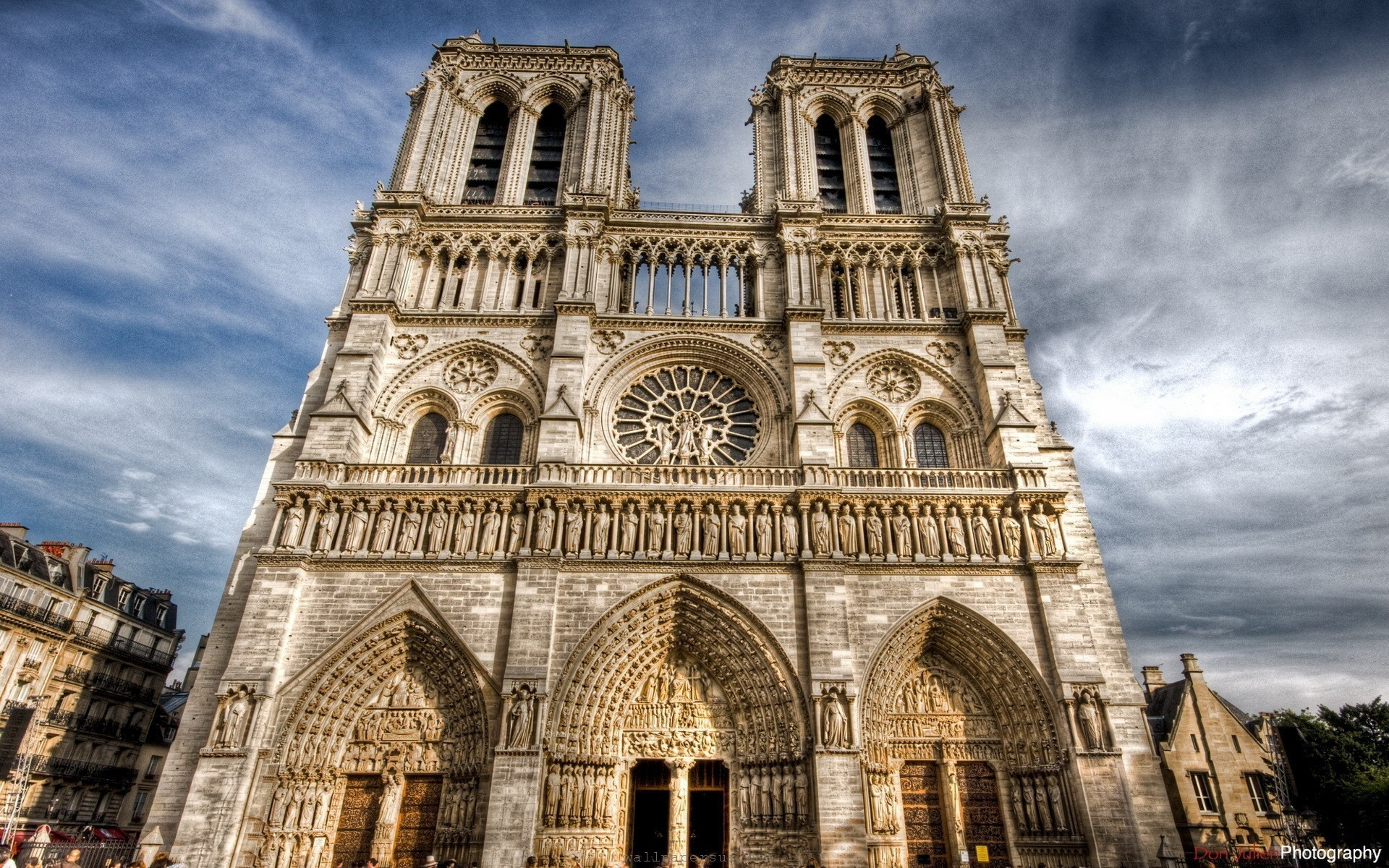 1920x1200  Notre Dame Cathedral