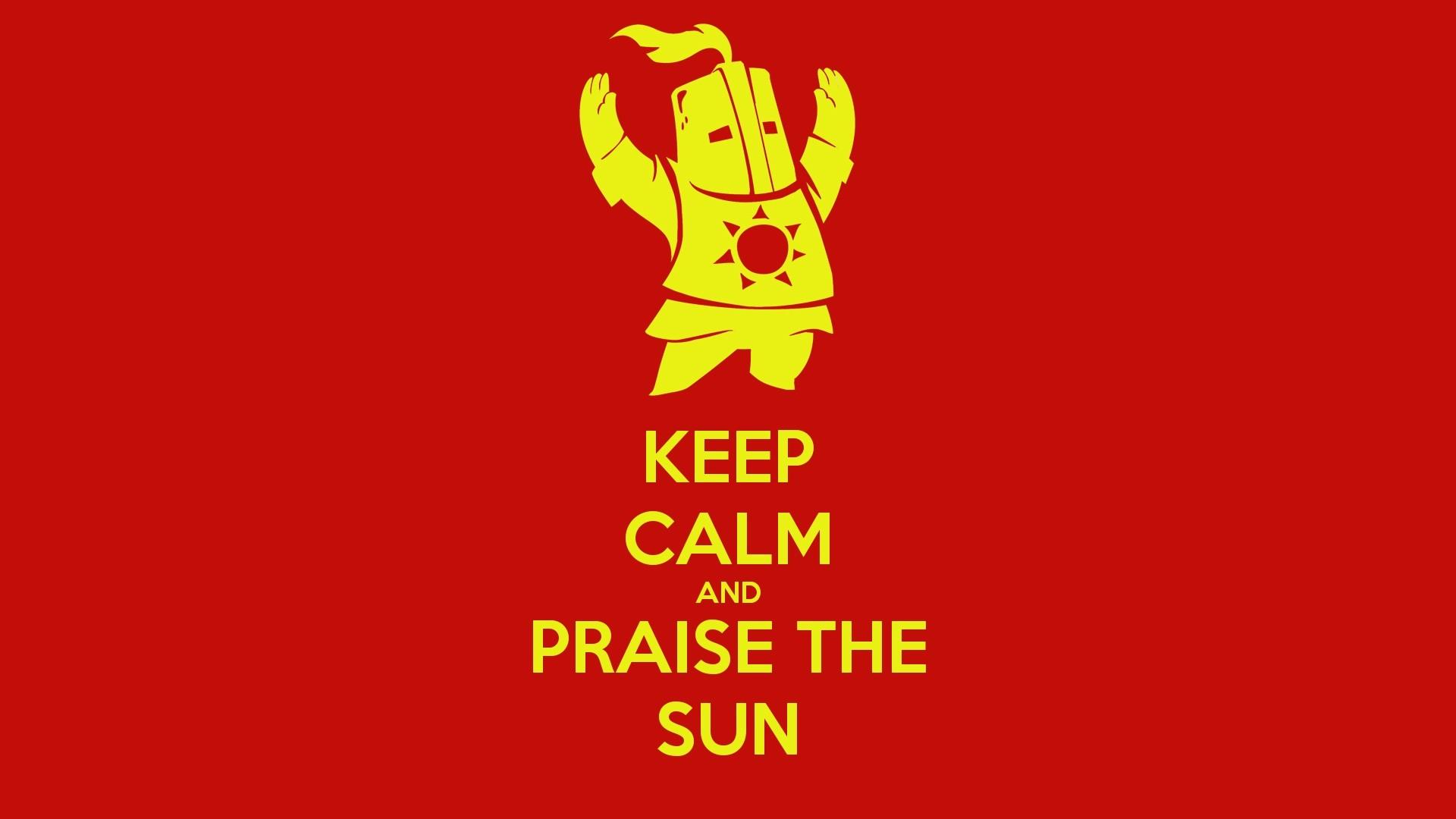 Do you even praise the sun wallpaper