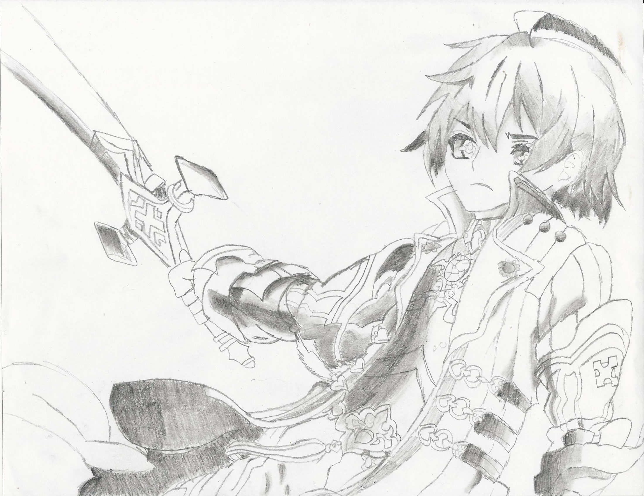 2200x1695 ... Stella Glow- Elcrest Sketch by PikaLeeGaming