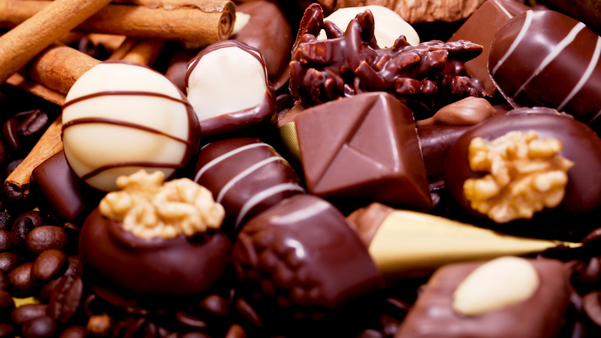 1920x1080 Assorted chocolate candy wallpapers and images - wallpapers, pictures .