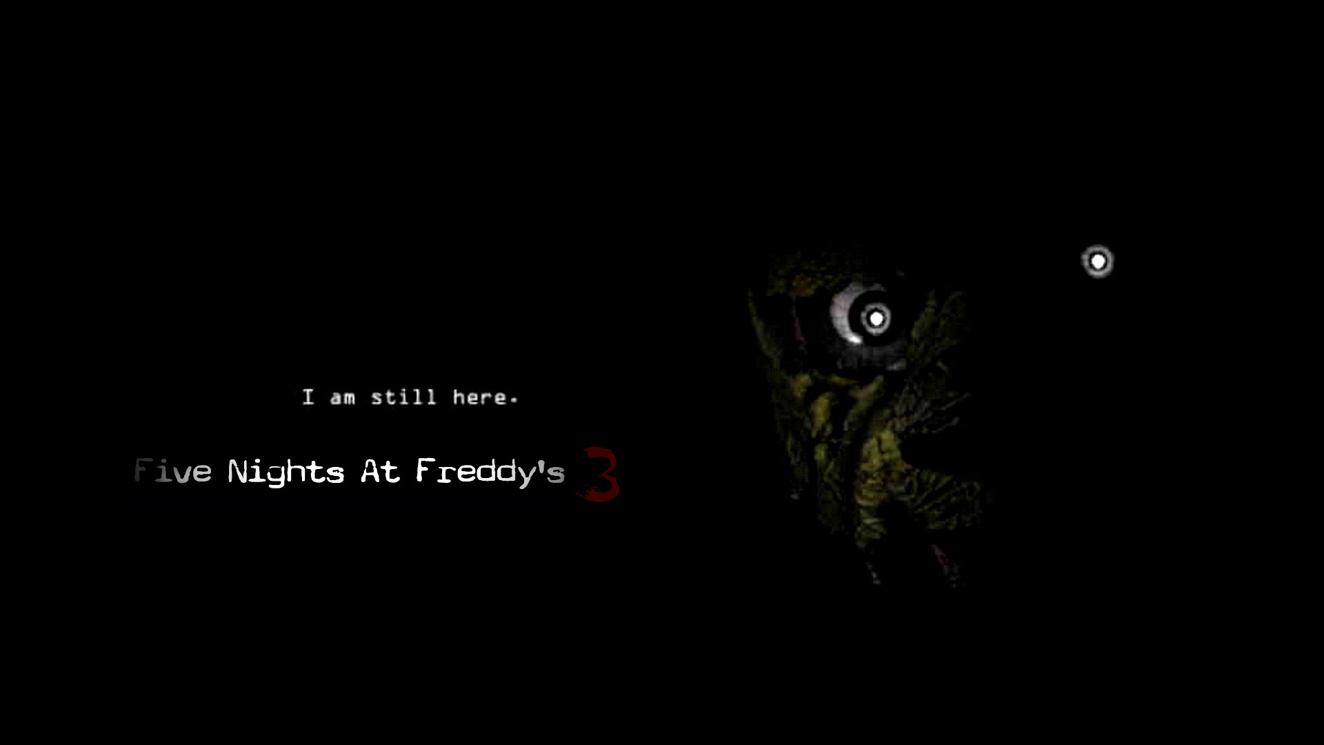 1920x1080 ... Five Nights At Freddy's 3 Official Poster by ProfessorAdagio