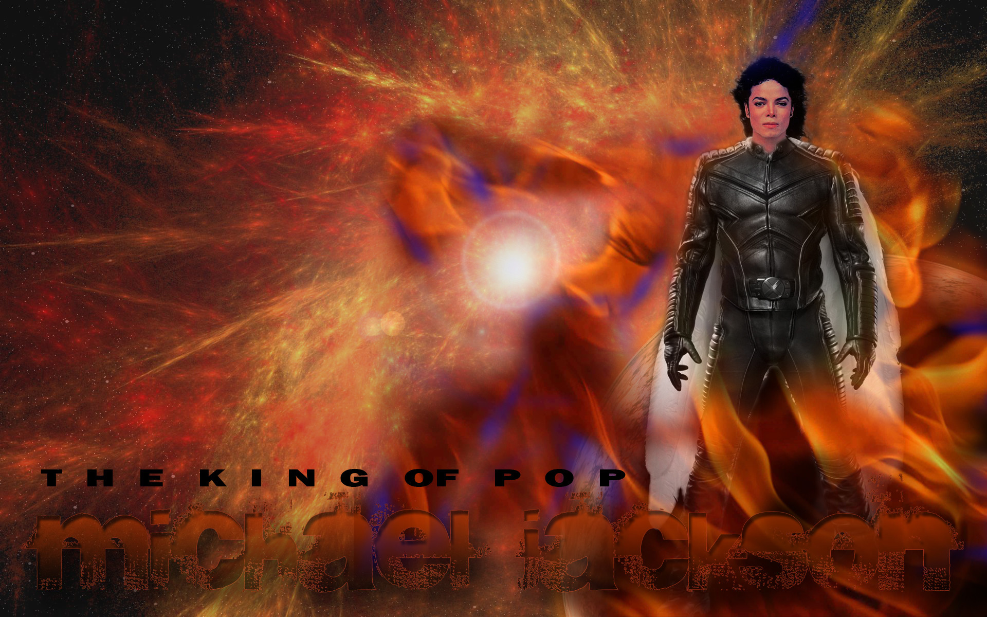 1920x1200 Michael Jackson wallpaper. I don't know who made this, but he's an