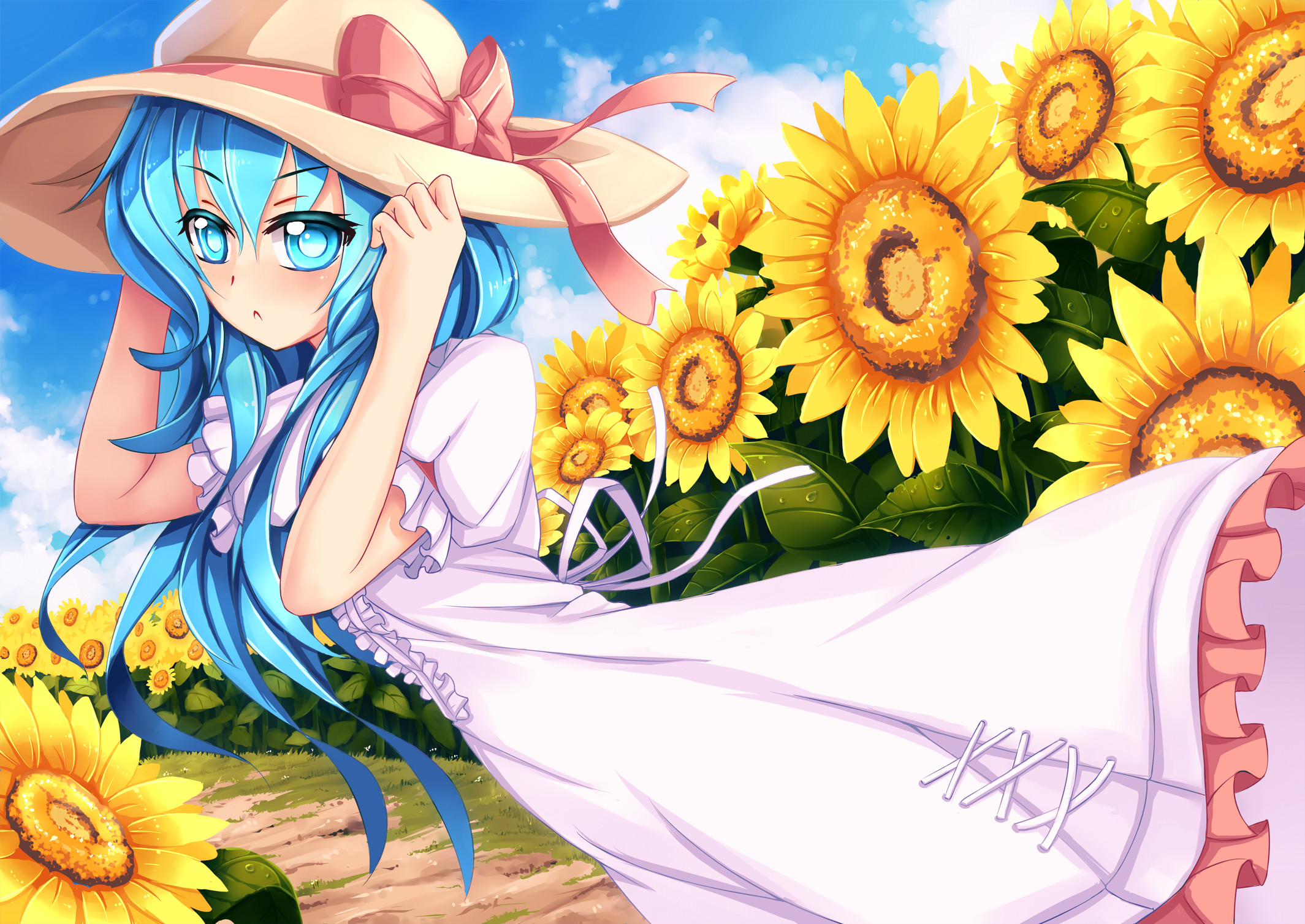 2129x1508 ... download Yoshino (Date A Live) image