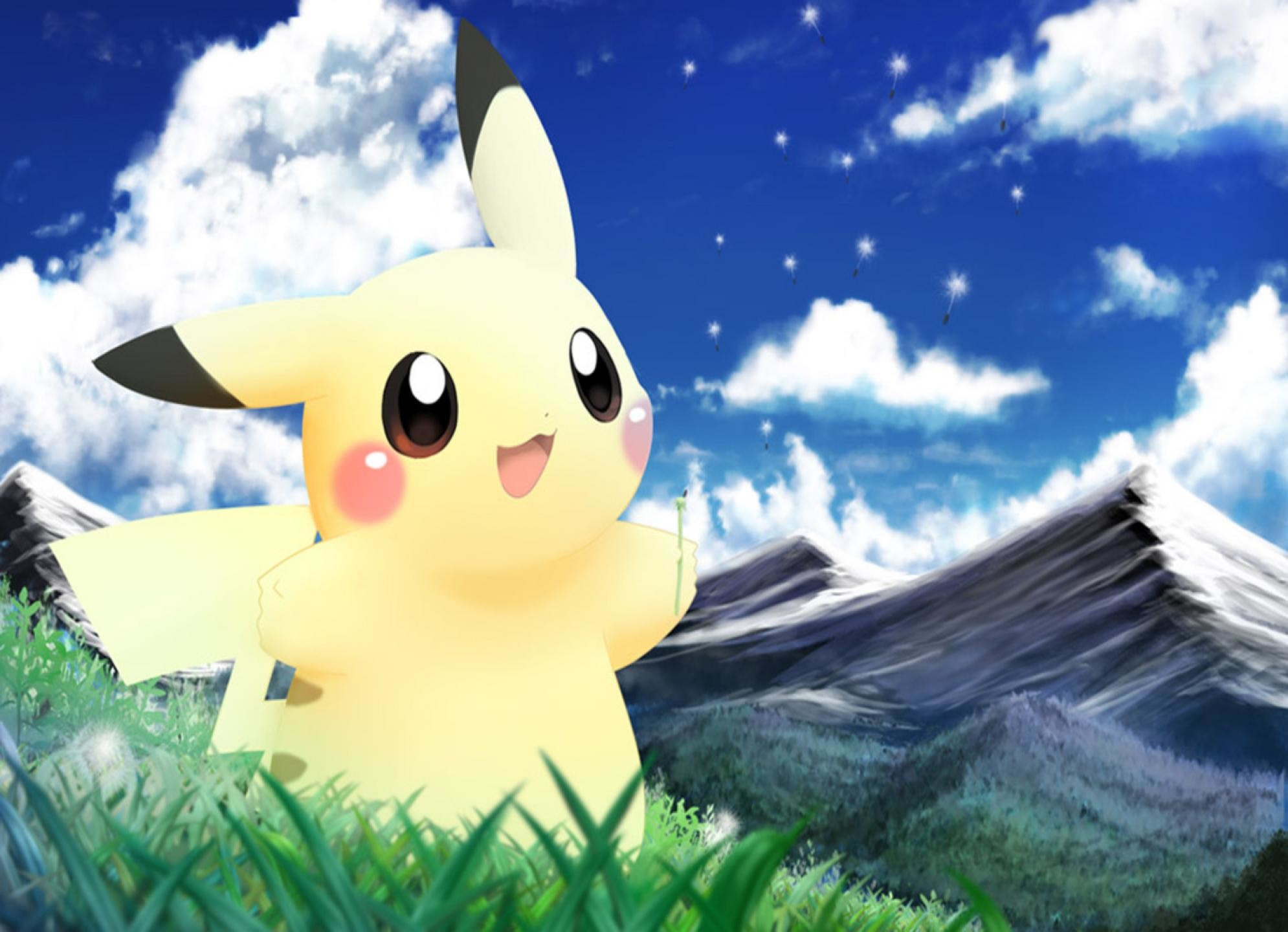 1990x1440 Cute Pikachu Wallpaper 5119 Hd Wallpapers in Games Imagescicom