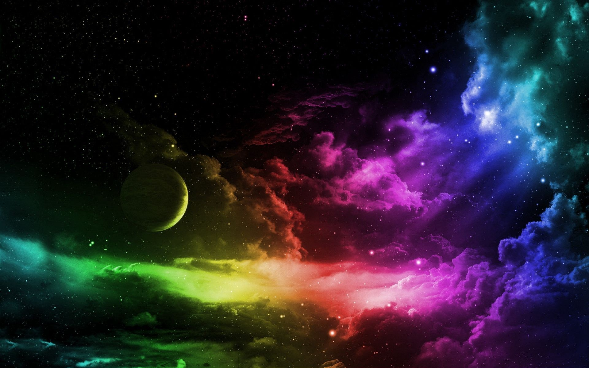 1920x1200 Wallpapers For > Trippy Outer Space Backgrounds