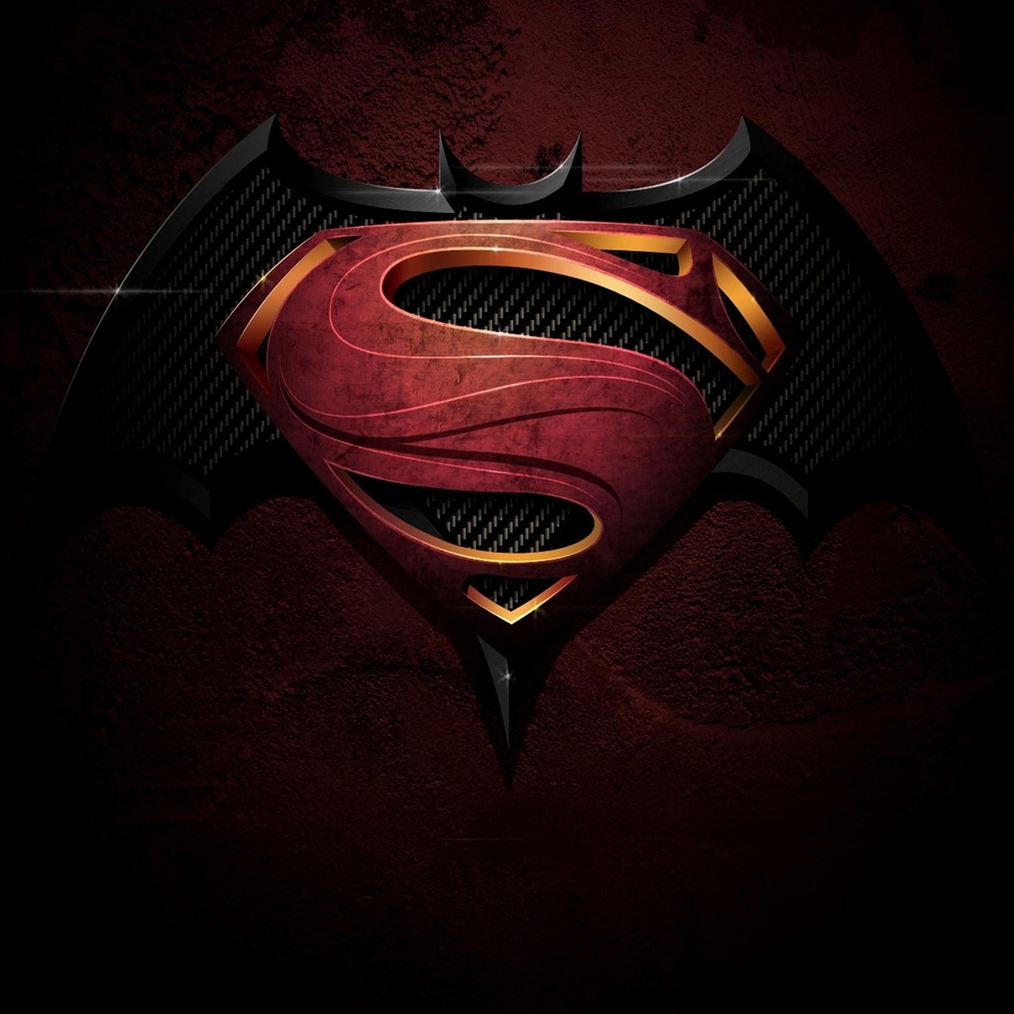 Batman vs Superman: Dawn of Justice 2016 iPhone & Desktop ... |Batman Superman Logo Wallpaper