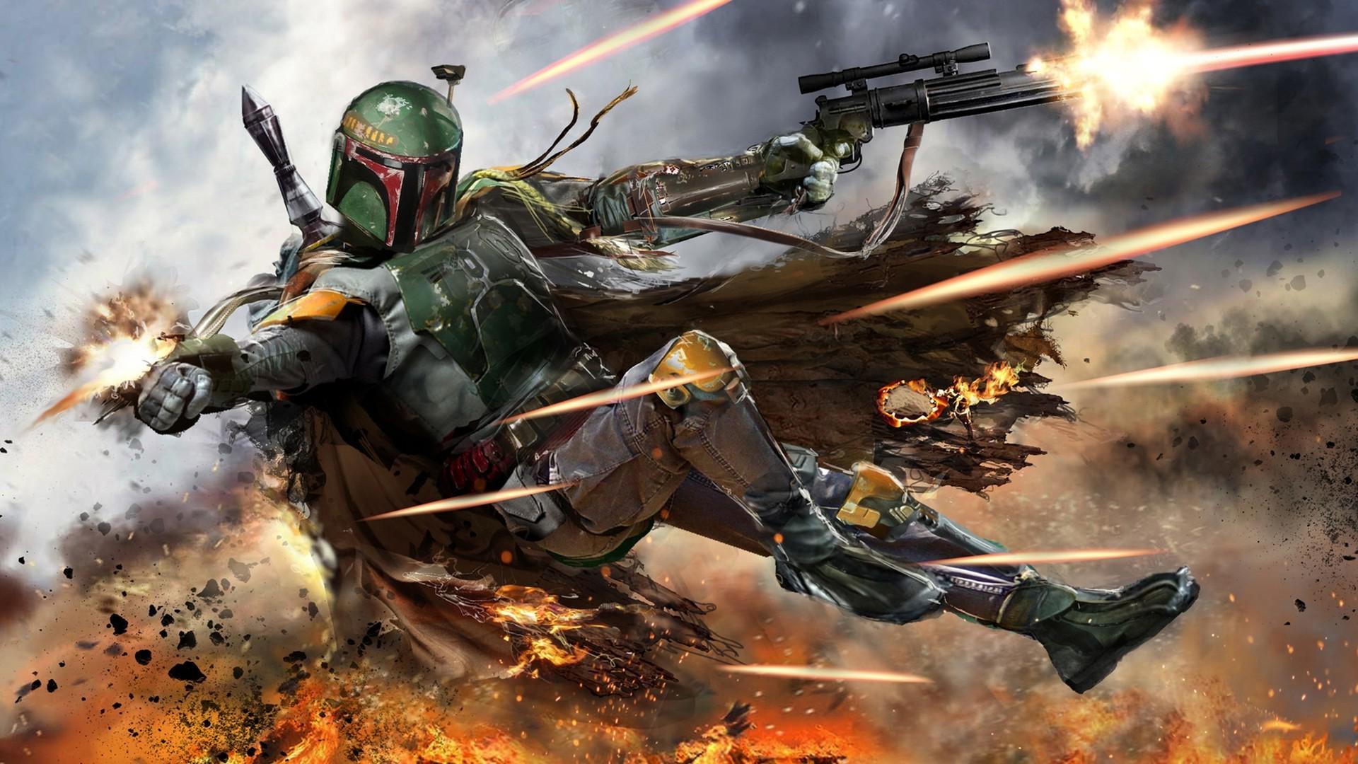Star Wars Bounty Hunter Wallpaper 71 Images