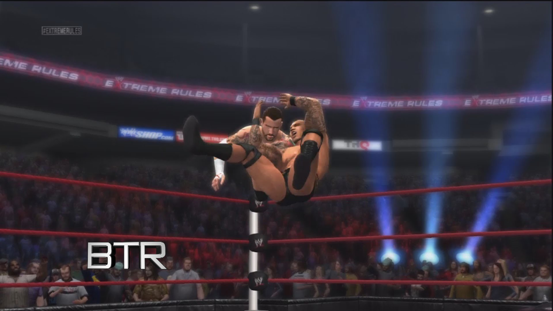 1920x1080 WWE 13 Creations Special Finisher How To Make Randy Orton's Top Rope RKO  Move
