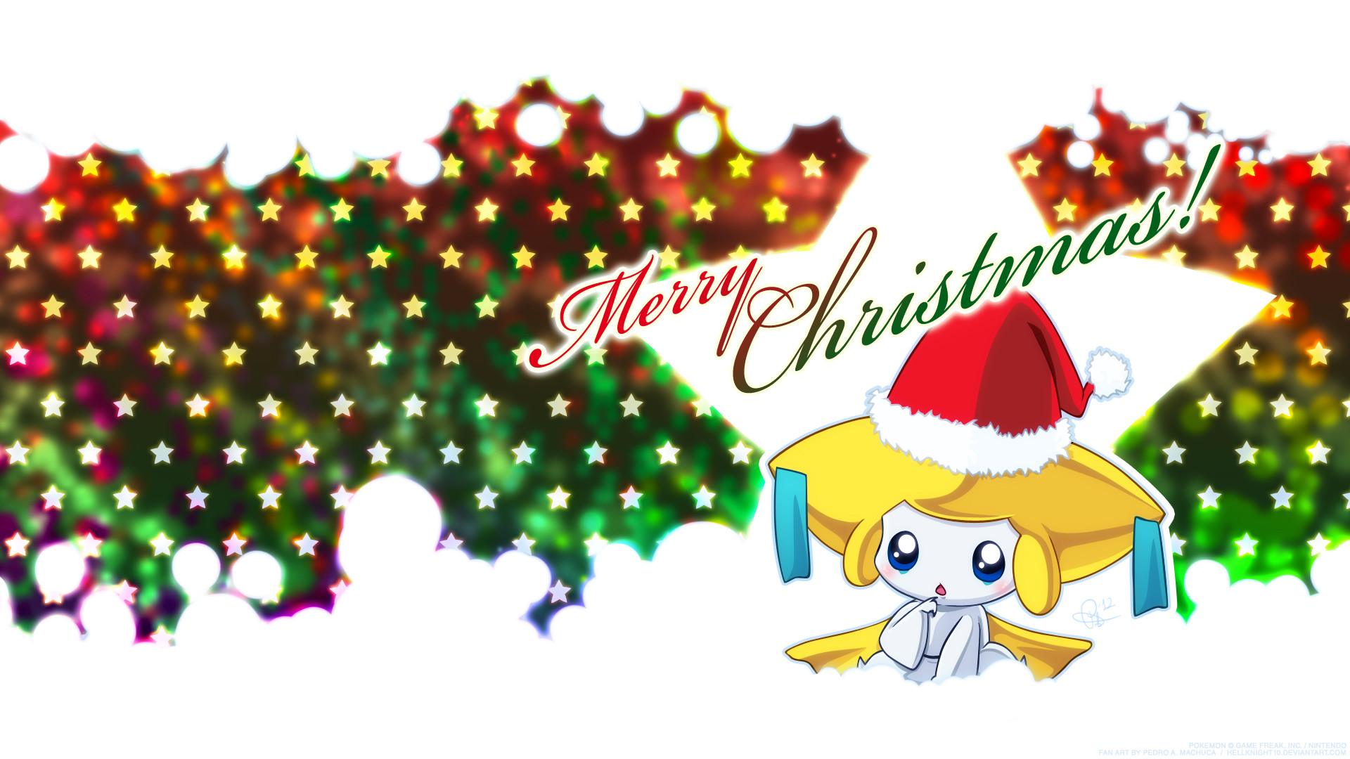 1920x1080 Christmas Jirachi Wallpaper by Hellknight10 Christmas Jirachi Wallpaper by  Hellknight10