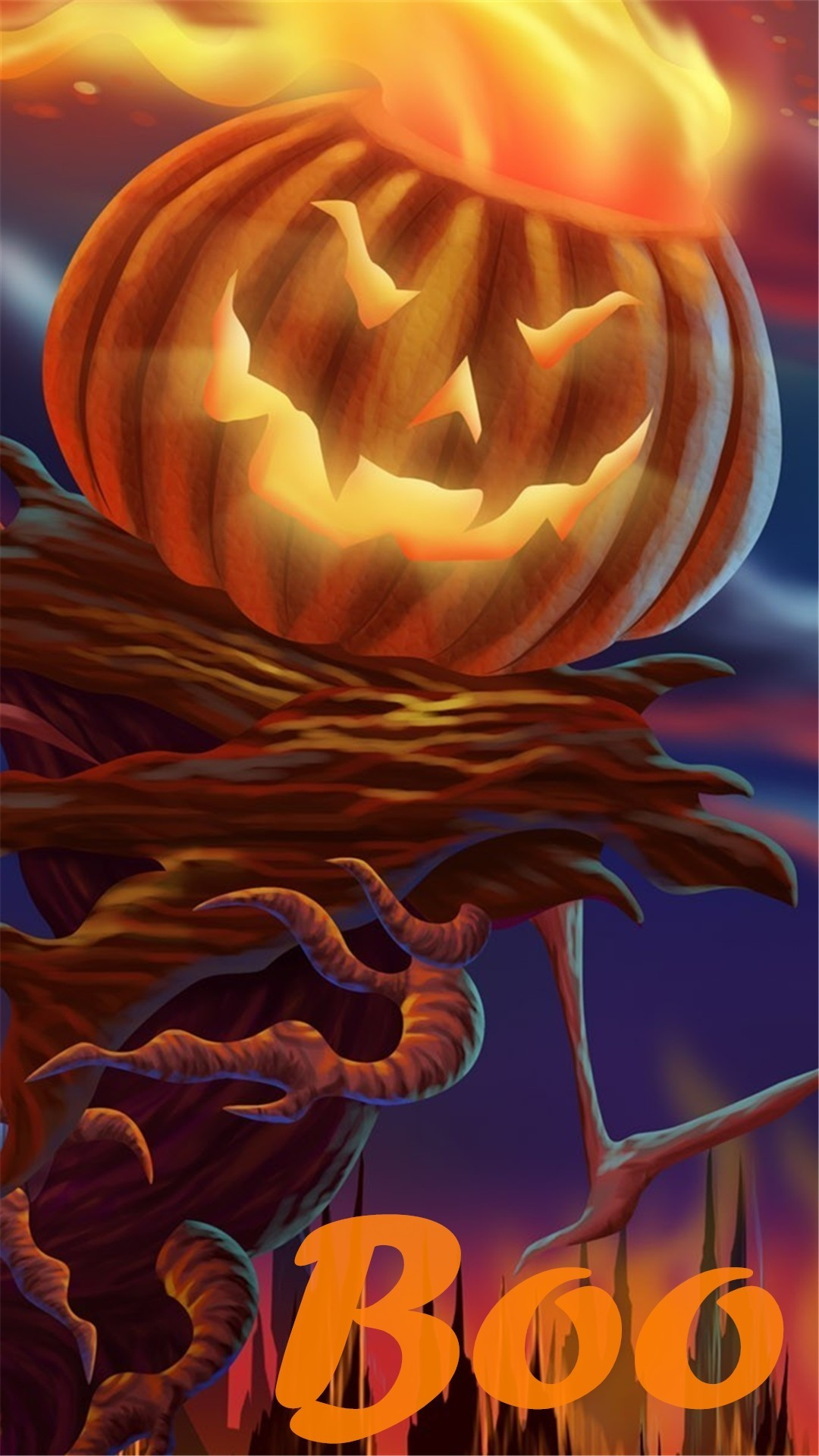 Scarecrows and Pumpkins Wallpaper (58+ images)