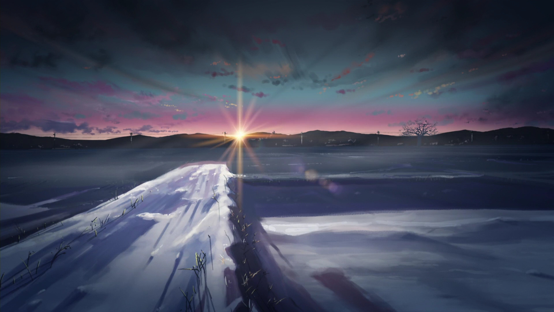 1920x1080 5 Centimeters per Second
