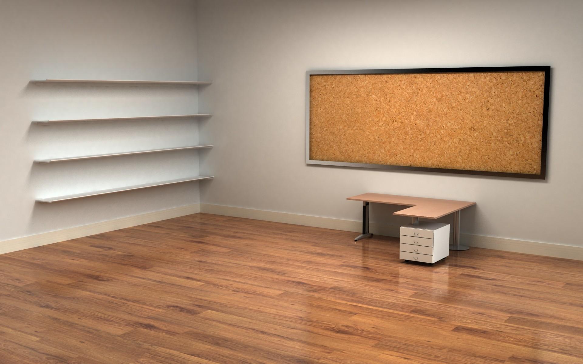 1920x1200 Empty Office Wallpaper