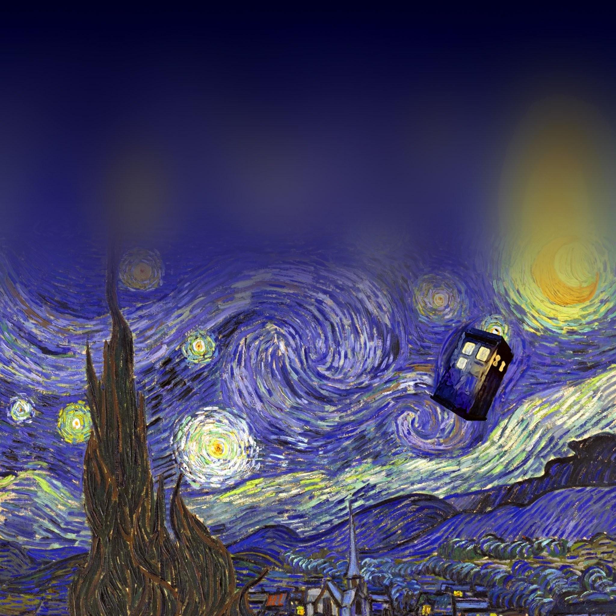 1920x1200 Doctor Who Van Gogh Iphone Wallpaper