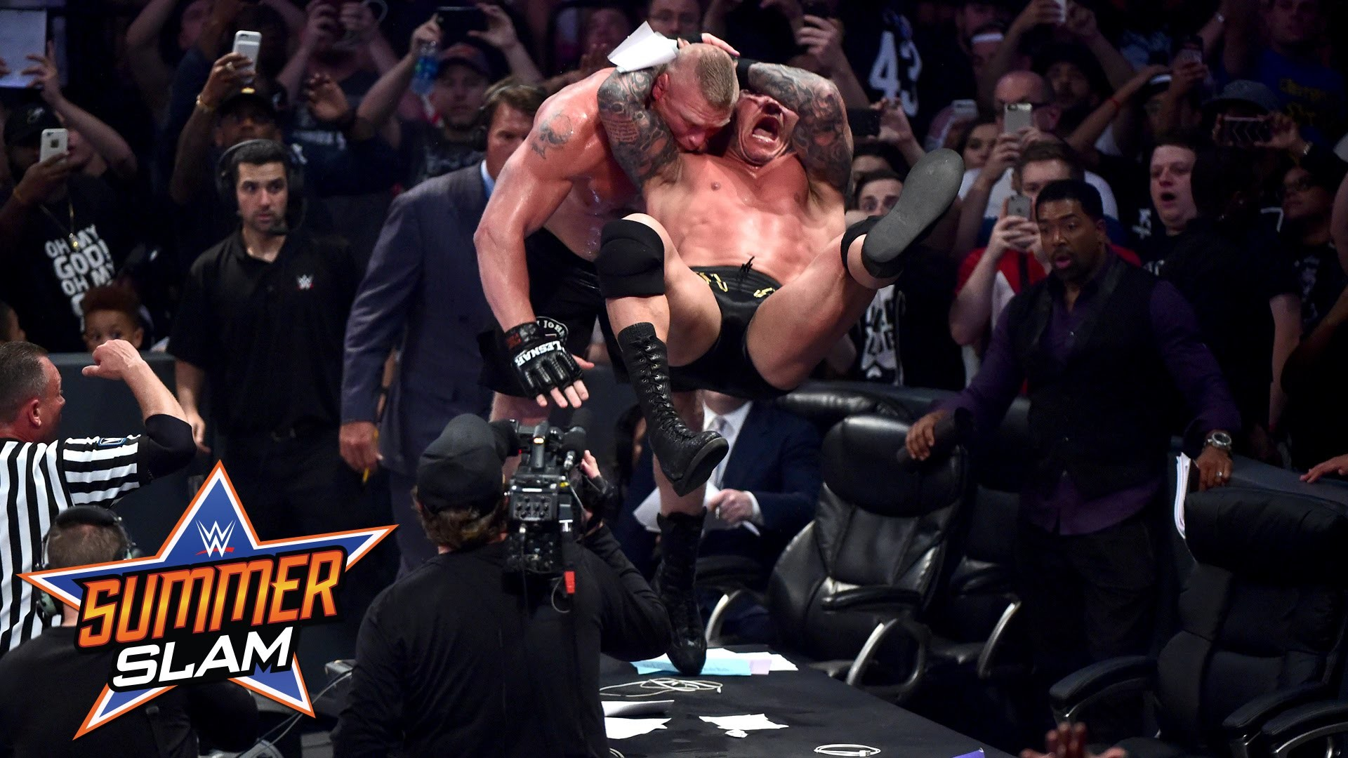 1920x1080 Brock Lesnar: SummerSlam 2016, only on WWE Network - YouTube