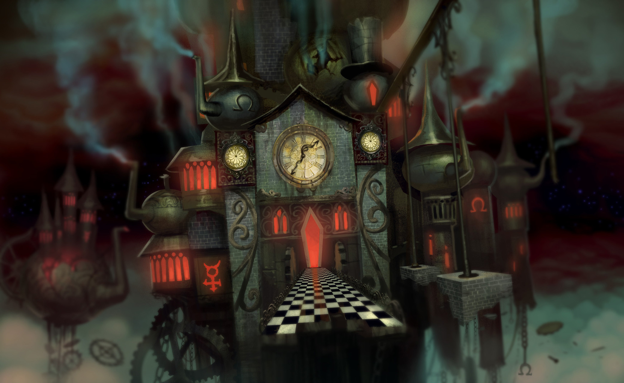 2084x1280 alice madness returns mad hatter wallpaper - Google Search